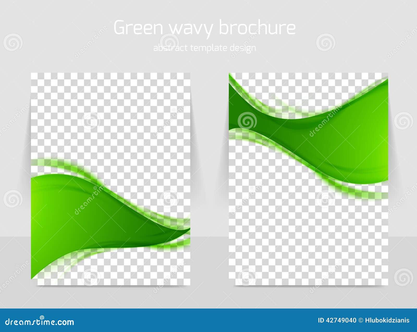 green brochure template - brochure template stock vector image of design banner