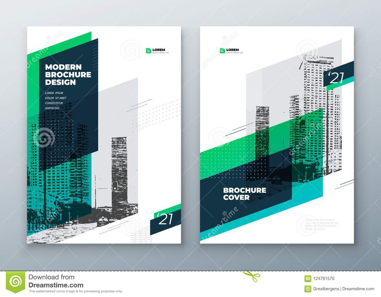 Brochure template layout design. Corporate business annual report, catalog, magazine, brochure, flyer mockup. Creative