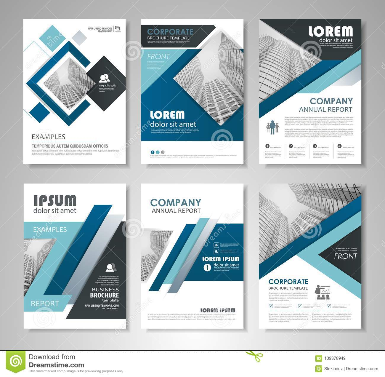 Brochures And Flyers Template Design Stock Vector - Illustration of ...