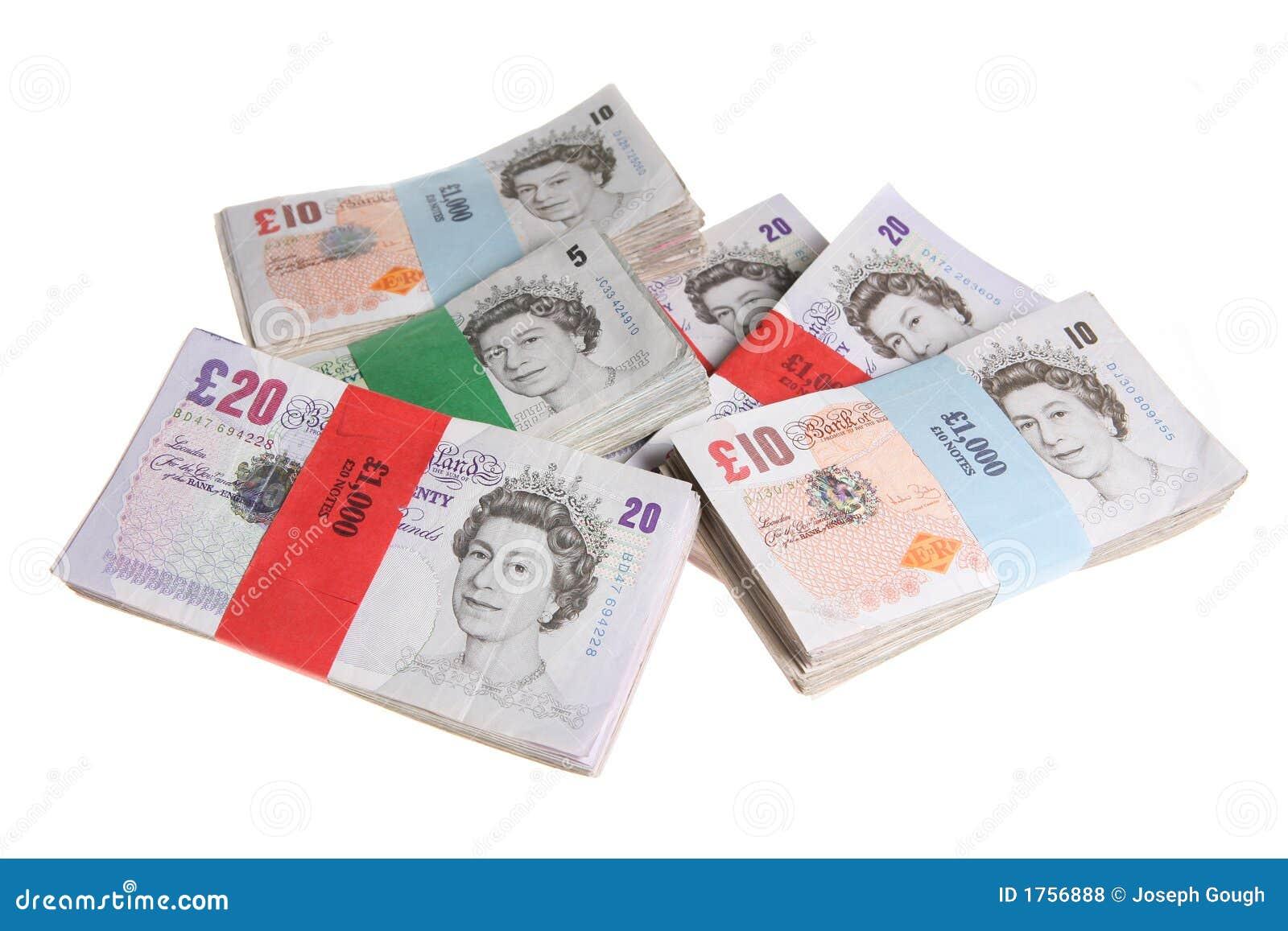 Broguje funtów