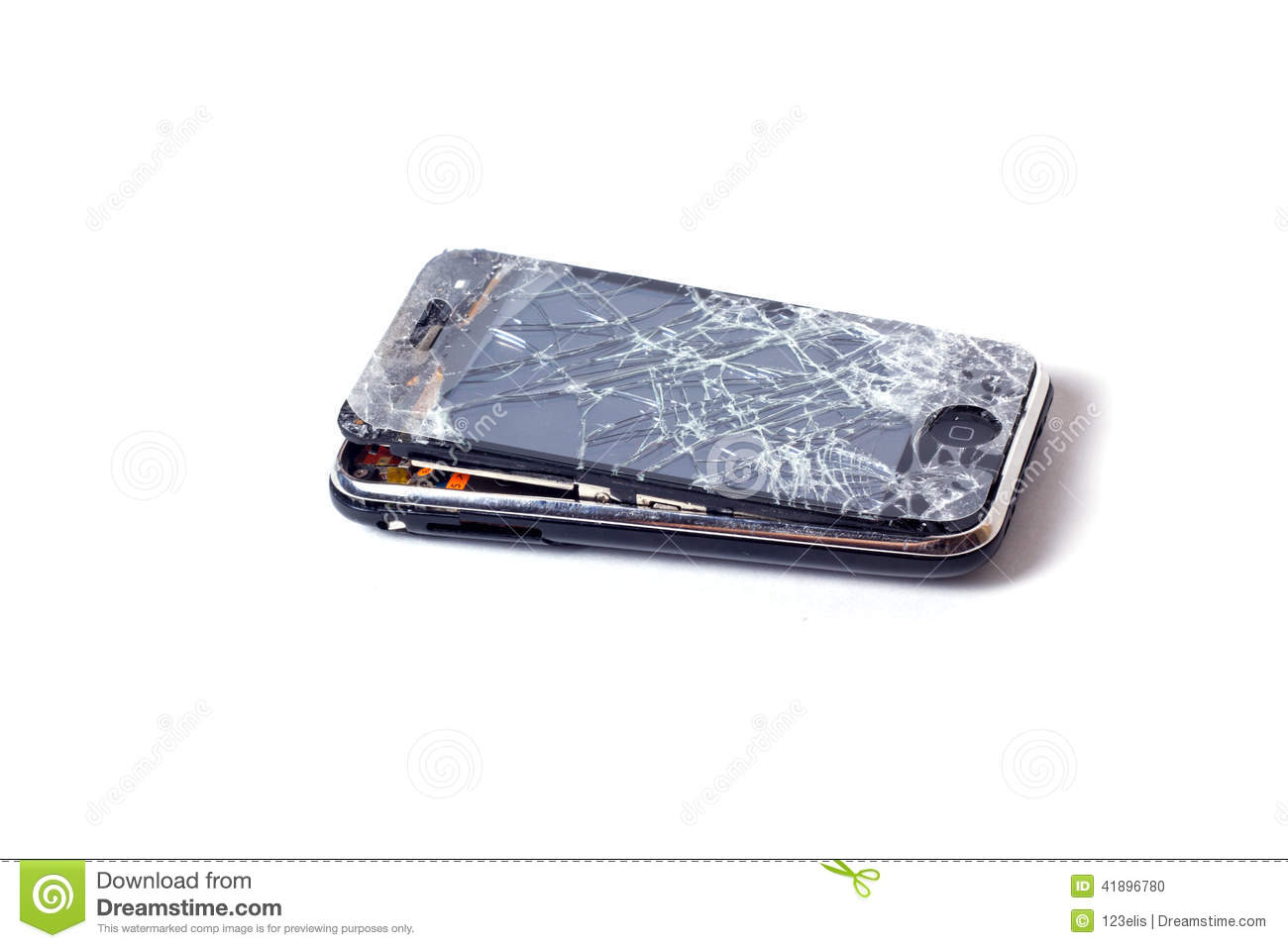 Apple Iphone Smashed Screen