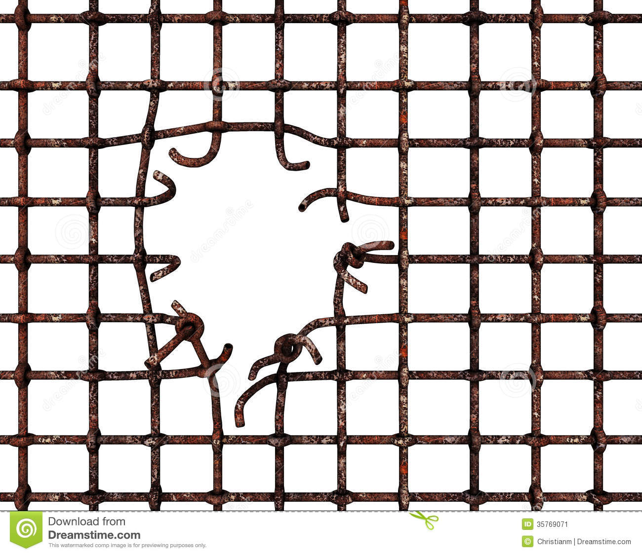 Rusty Prison Bars Stock Photos, Images, & Pictures - 460 Images