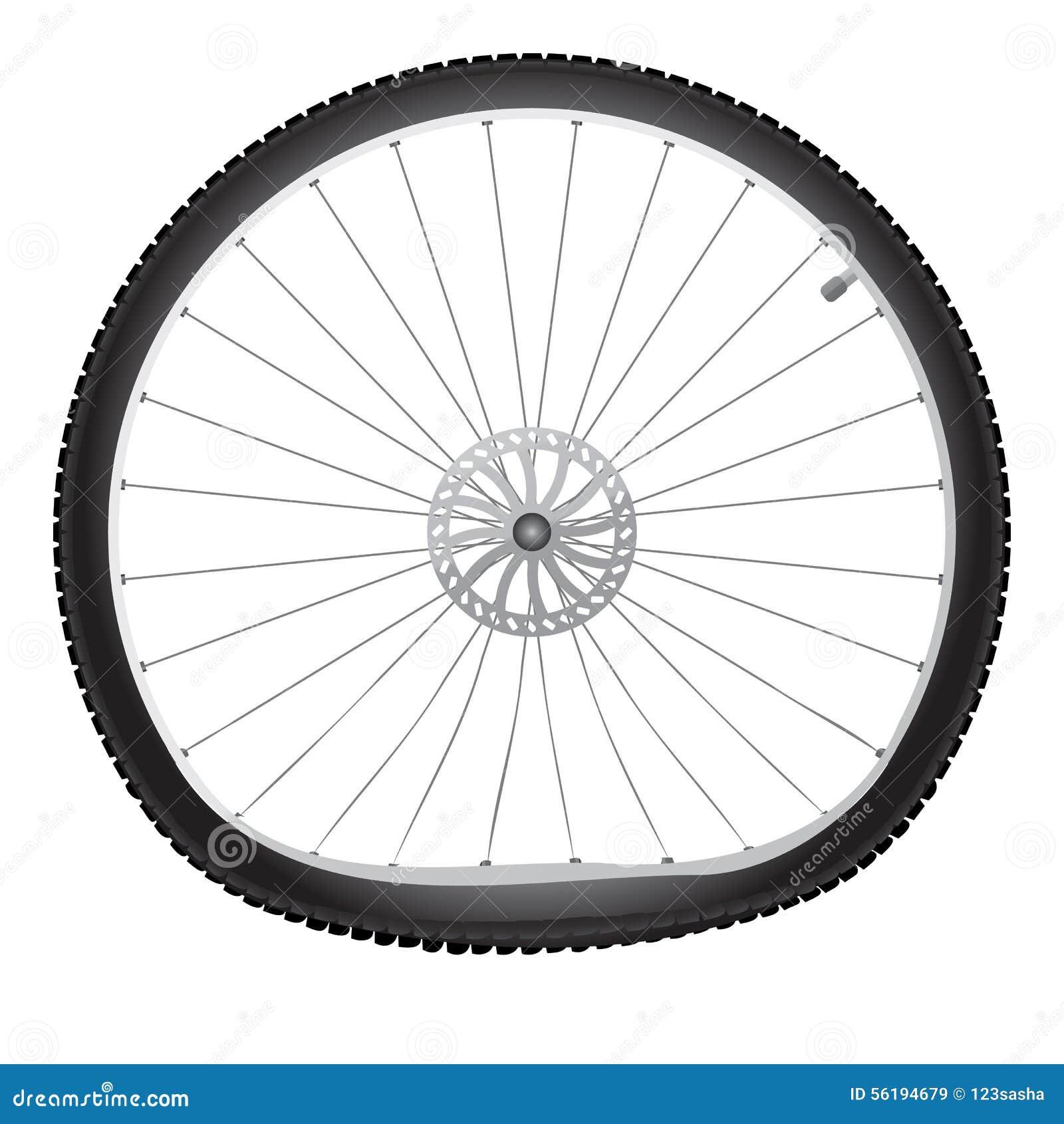 Broken Wheel Clip Art : Broken bicycle wheel stock vector image