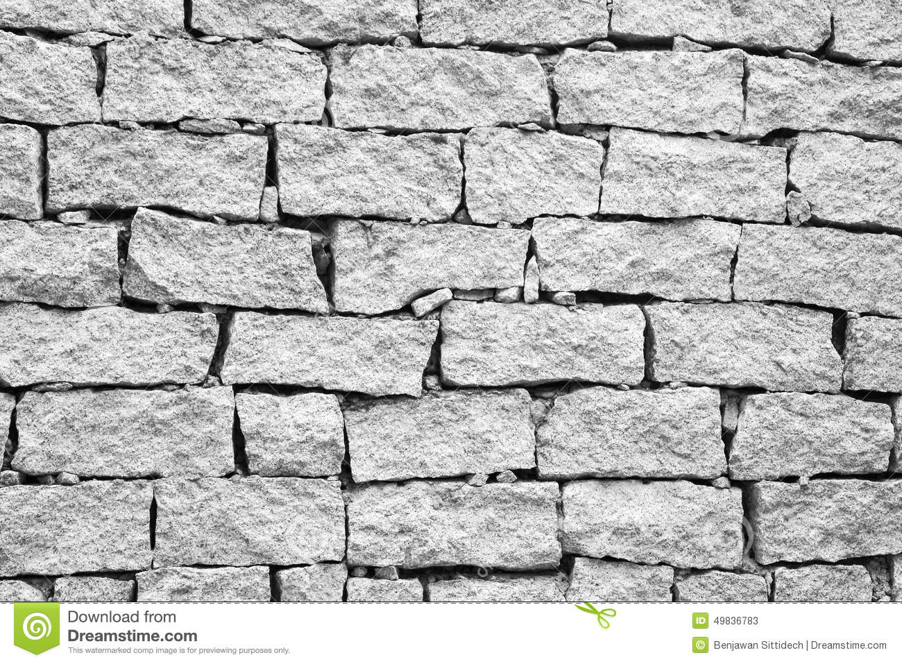Broken Brick Wall Texture Background Stock Image - Image ...