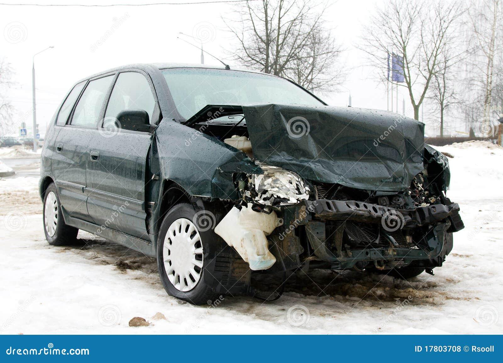 Broken Car Royalty Free Stock Photos - Image: 17803708
