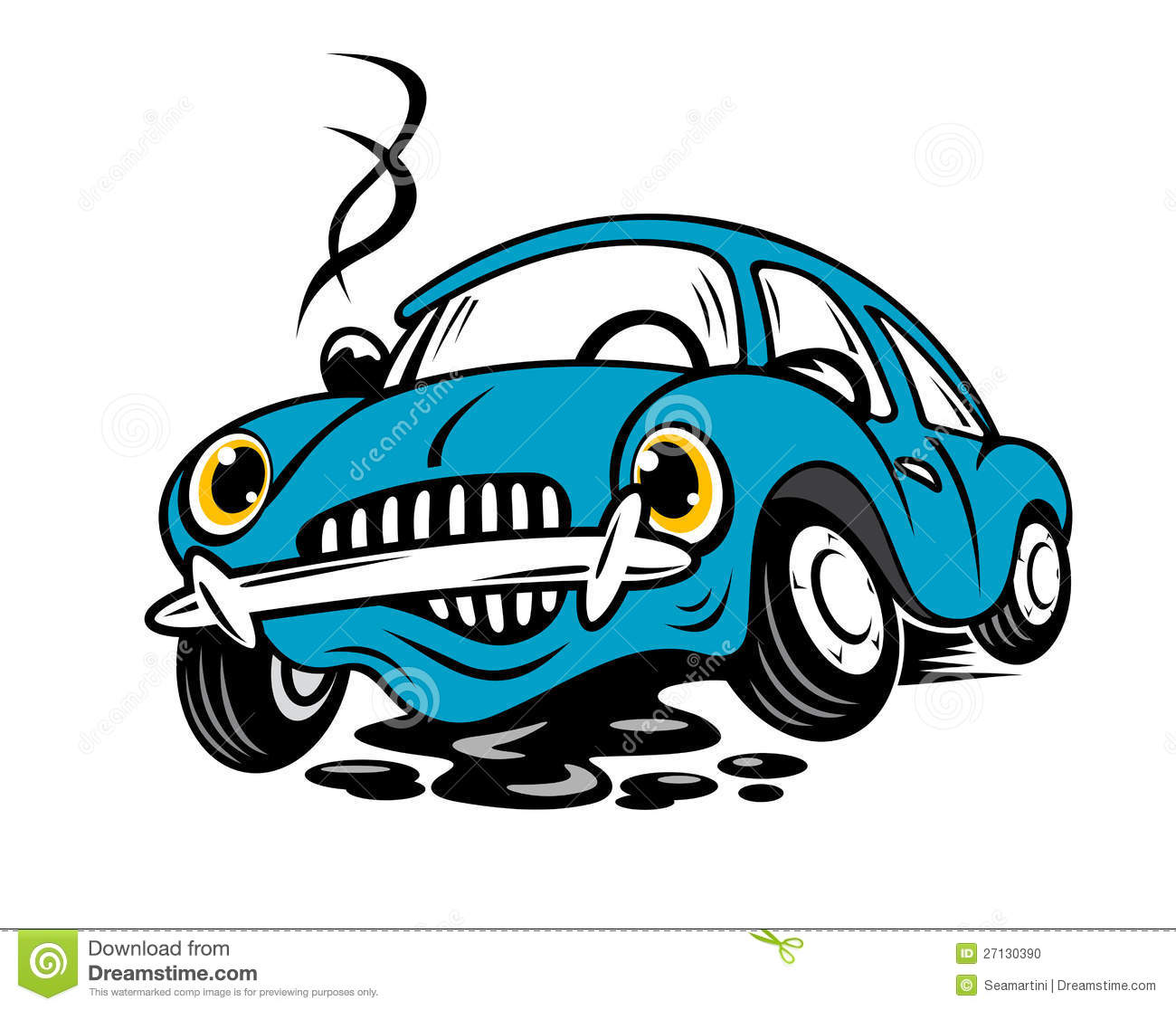 Stock Photo: Broken car. Image: