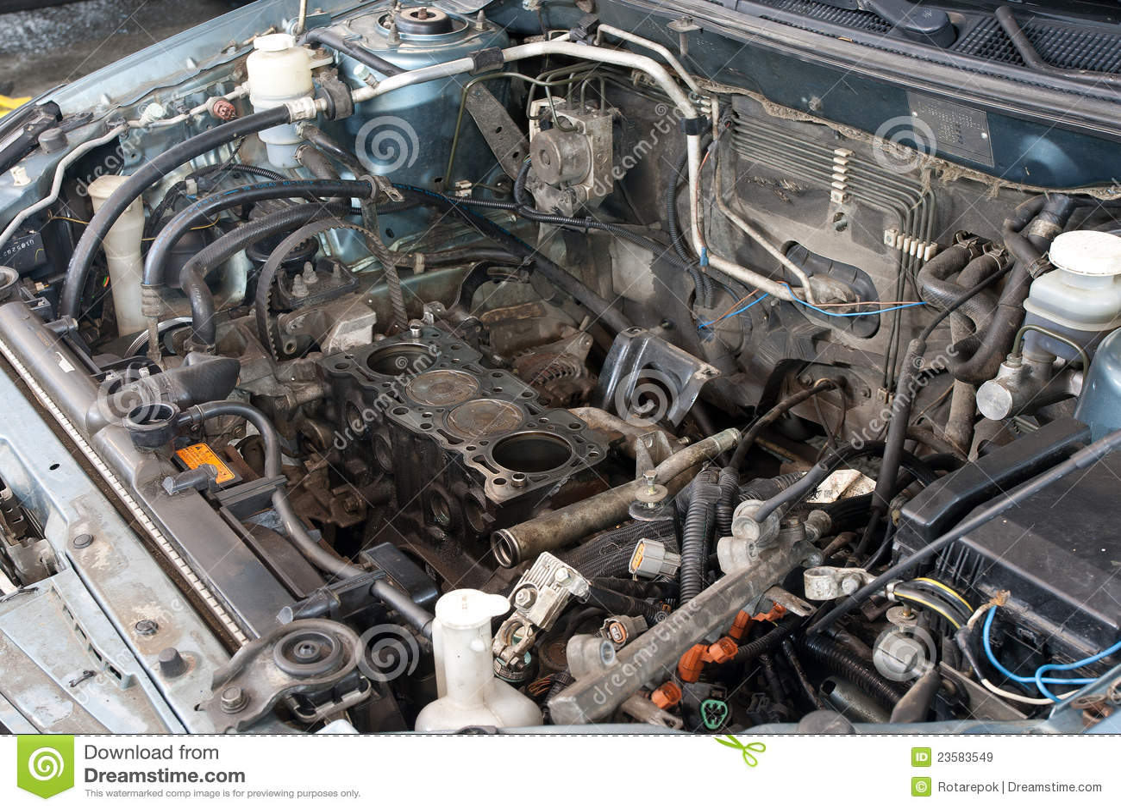 broken car engine stock image image of broken  gasoline 1978 Jeep a C Diagram Ford Truck Engine Diagram