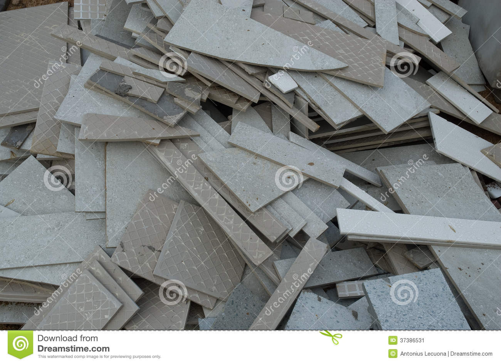 Broken Ceramic Tiles Stock Image Image Of Nobody Broken - Ceramic tile scraps