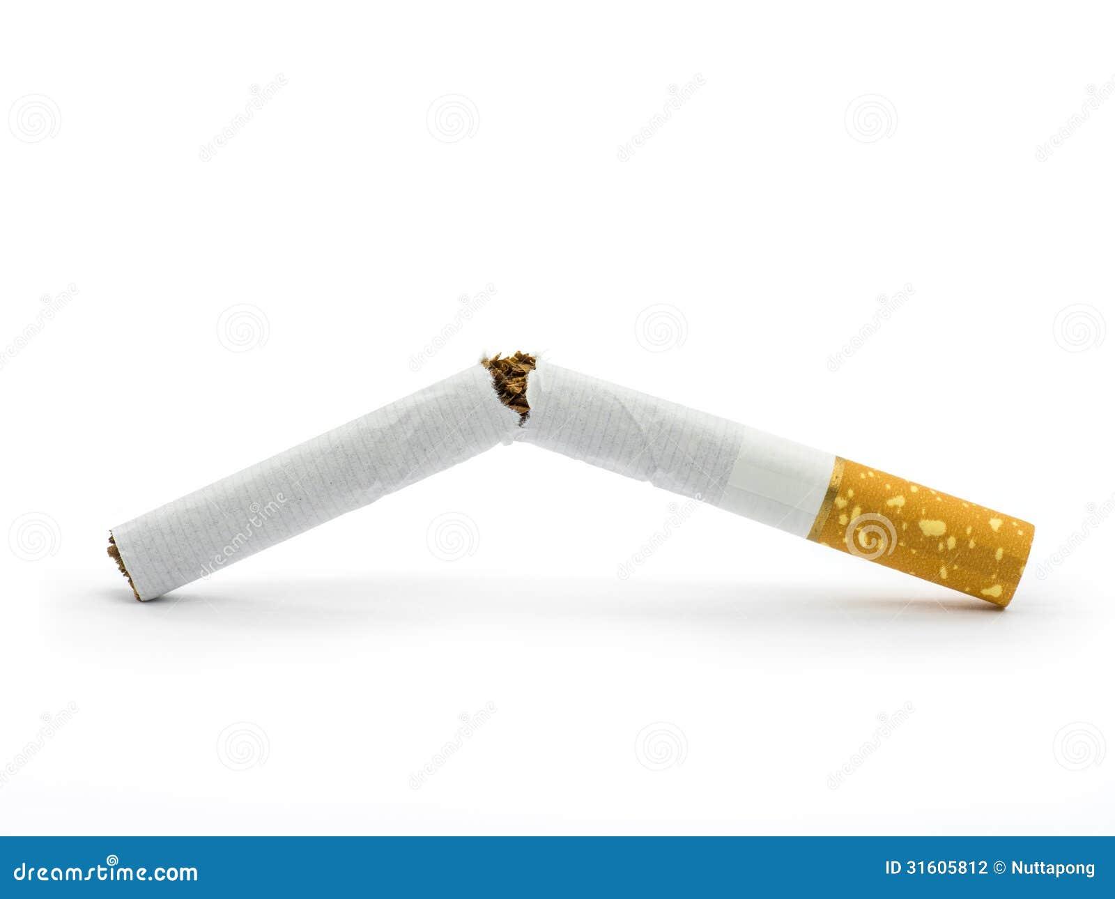 Broken Cigarette Stock Photography - Image: 31605812