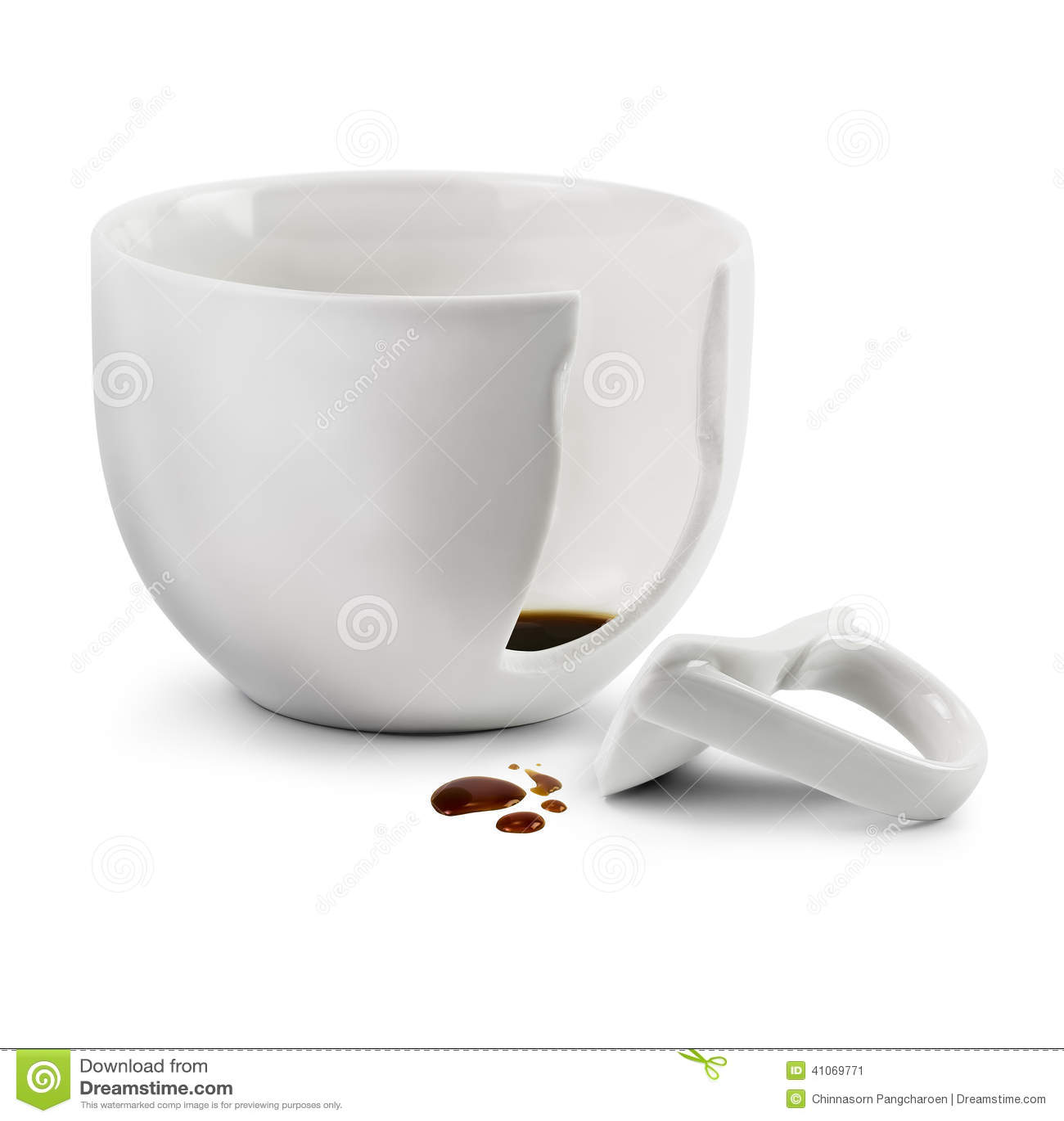 broken coffee cup stock photo image 41069771 crown vector art crown vector outline