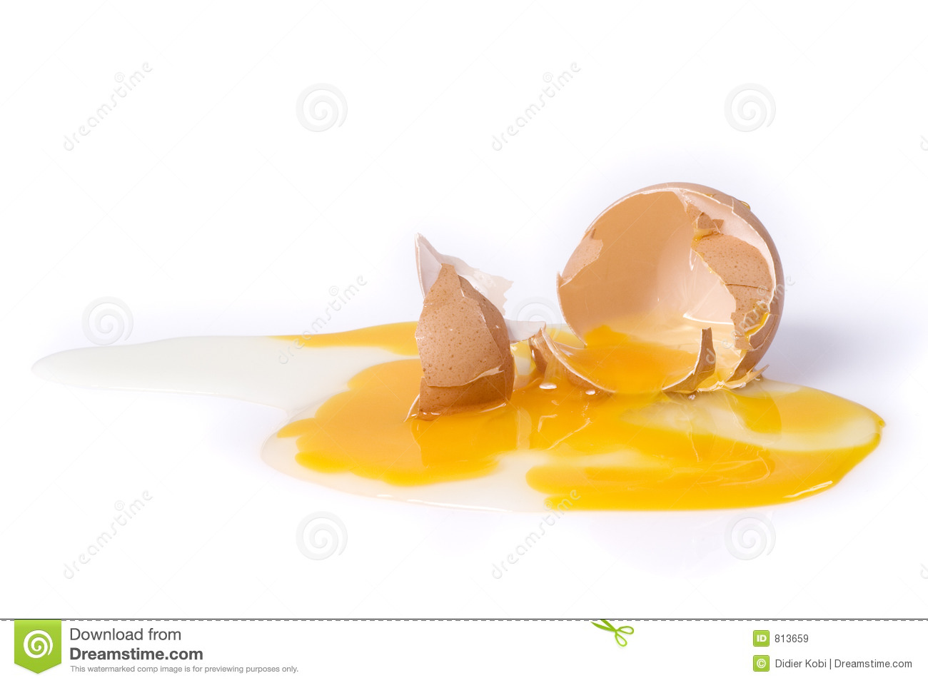 Broken Egg Royalty Free Stock Images Image 813659