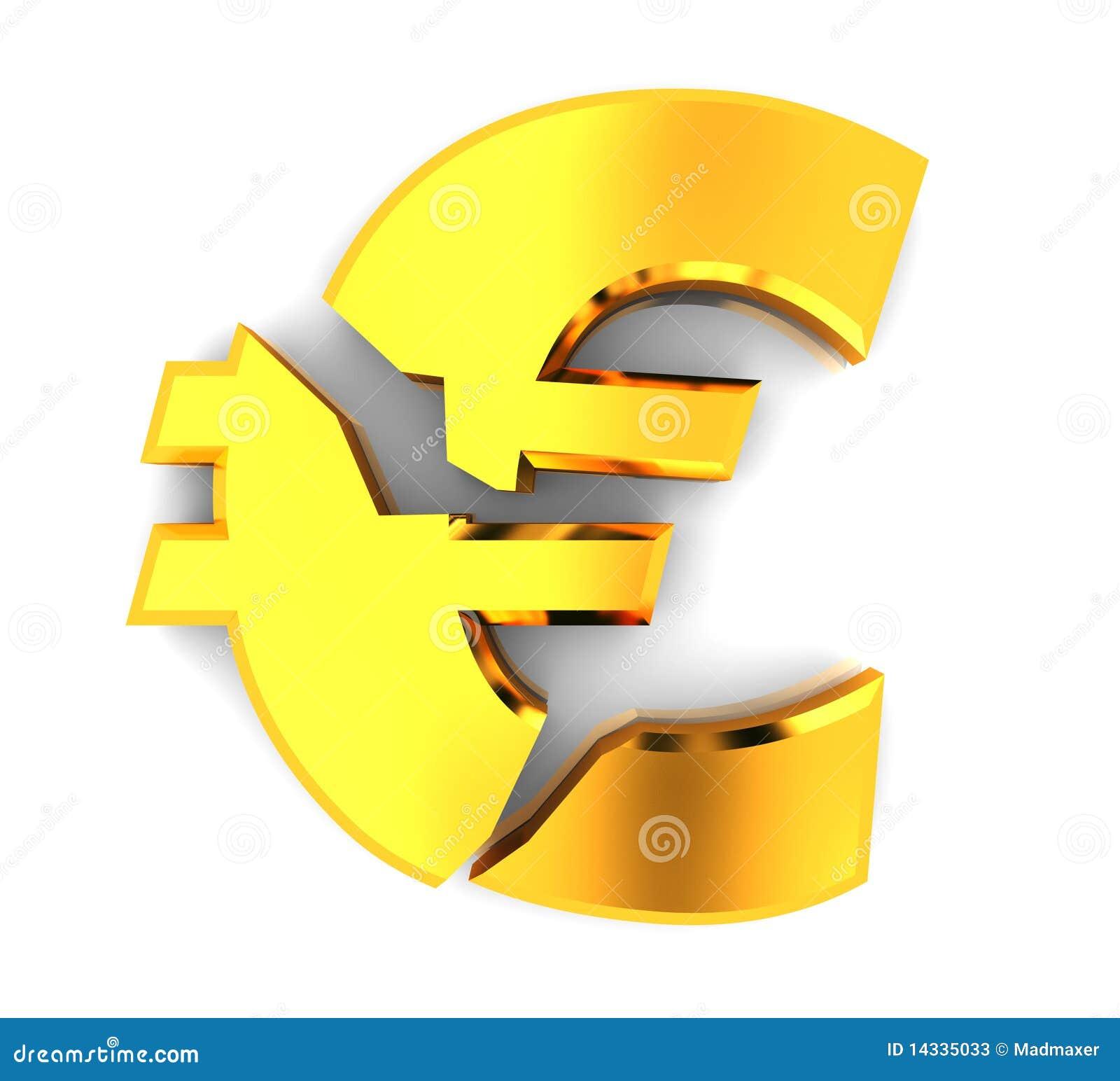 Broken euro