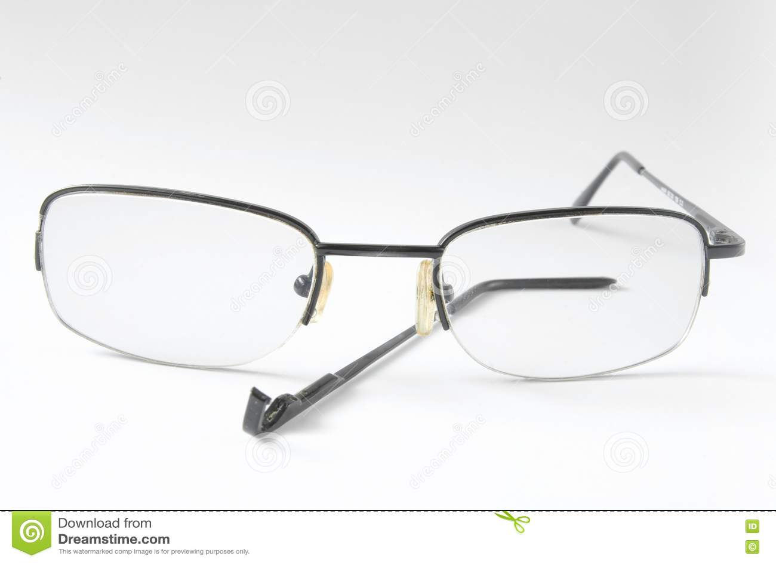 Broken Glasses Frame Dream : Broken Eyeglasses Royalty Free Stock Photo - Image: 14882595