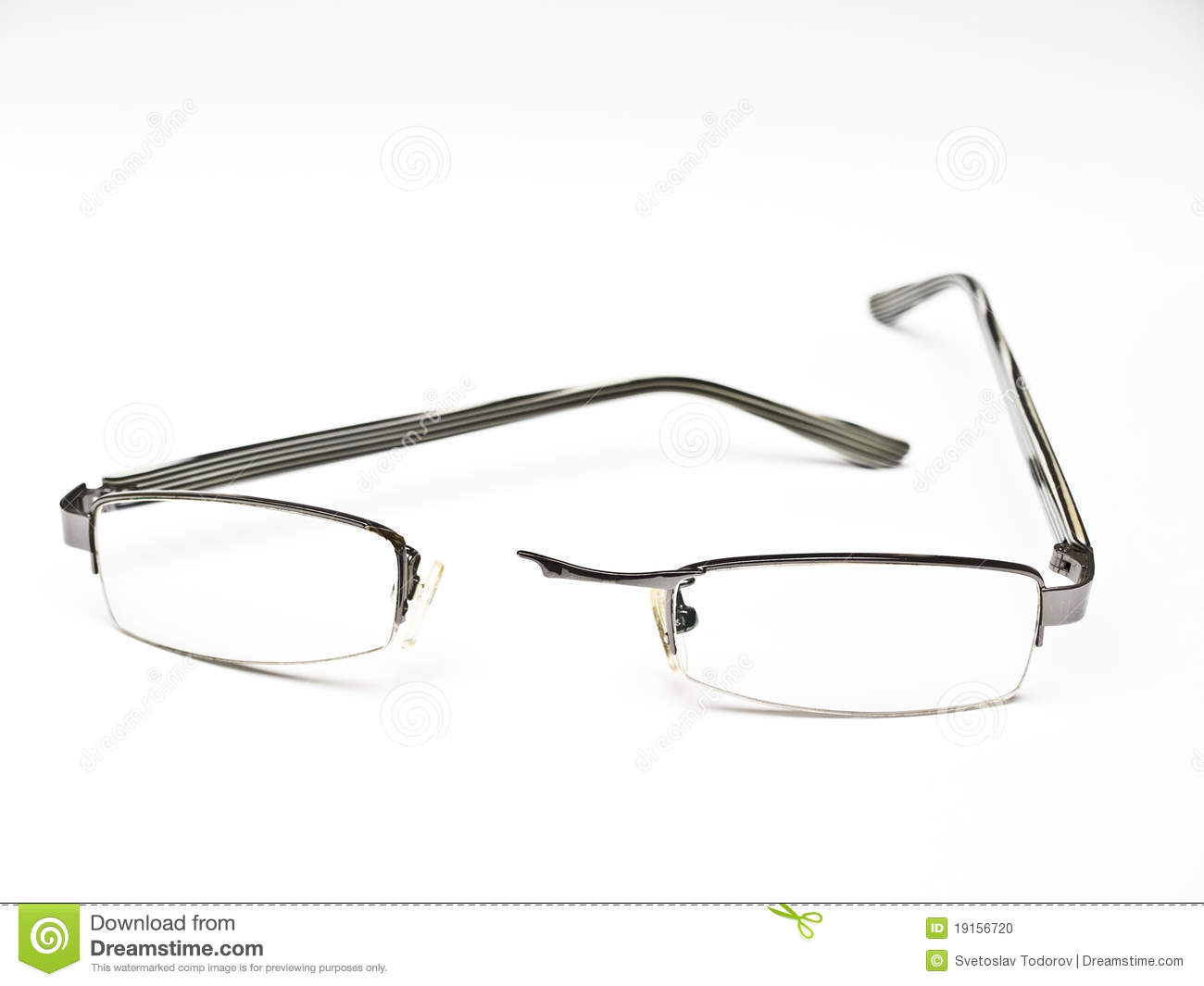 Glasses Frames Broken : Broken Eyeglasses Stock Photo - Image: 19156720