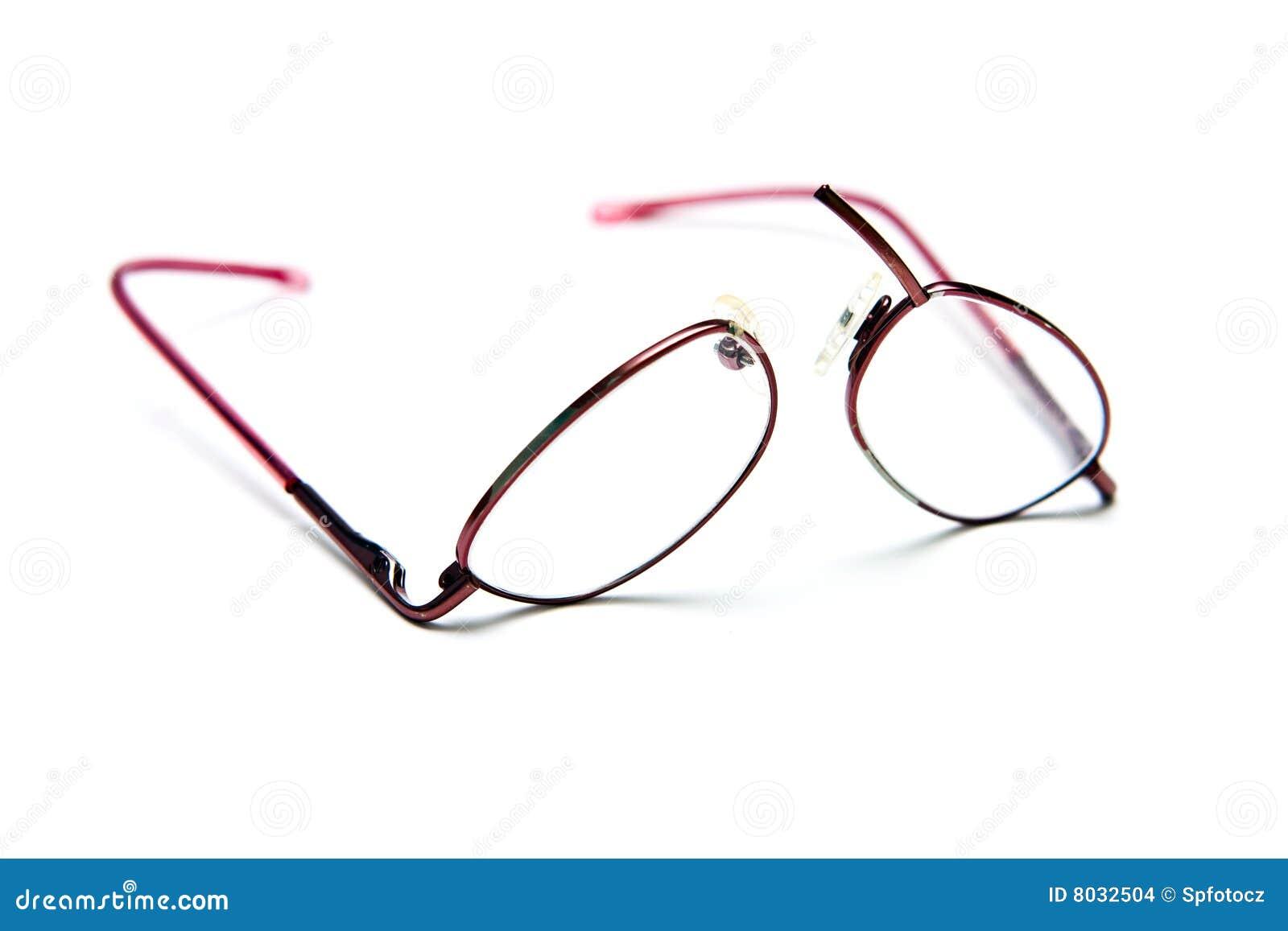 Glasses Frame Cracked : Broken Eyeglasses Stock Images - Image: 8032504