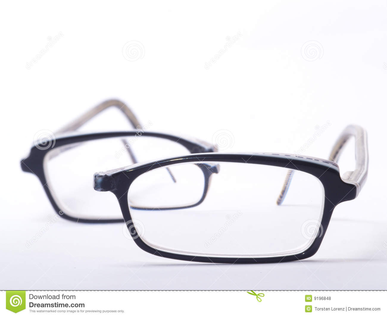 Glasses Frames Broken : Broken Eyeglasses Royalty Free Stock Photos - Image: 9196848