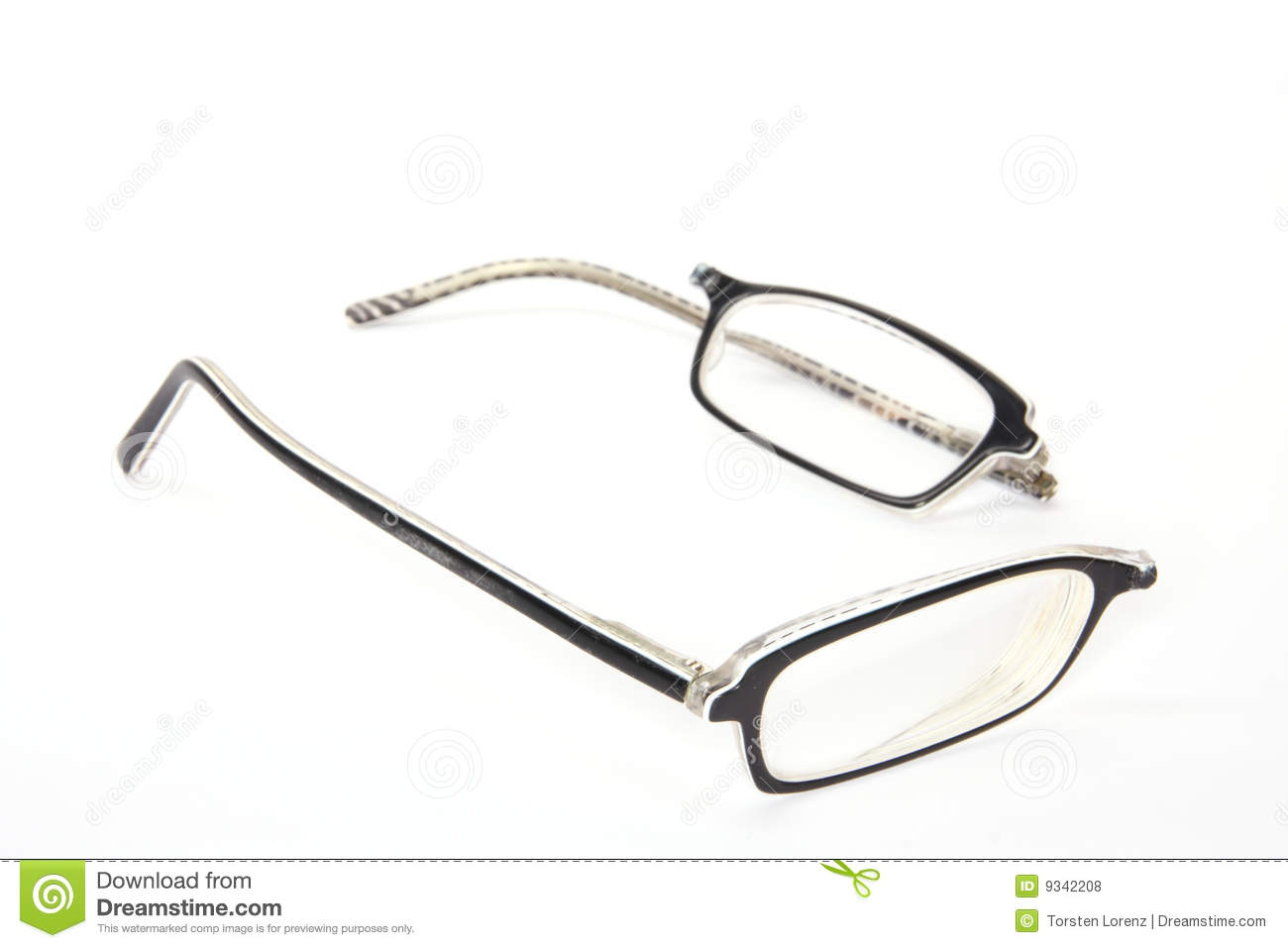 Glasses Frames Broken : Broken Eyeglasses Royalty Free Stock Photos - Image: 9342208