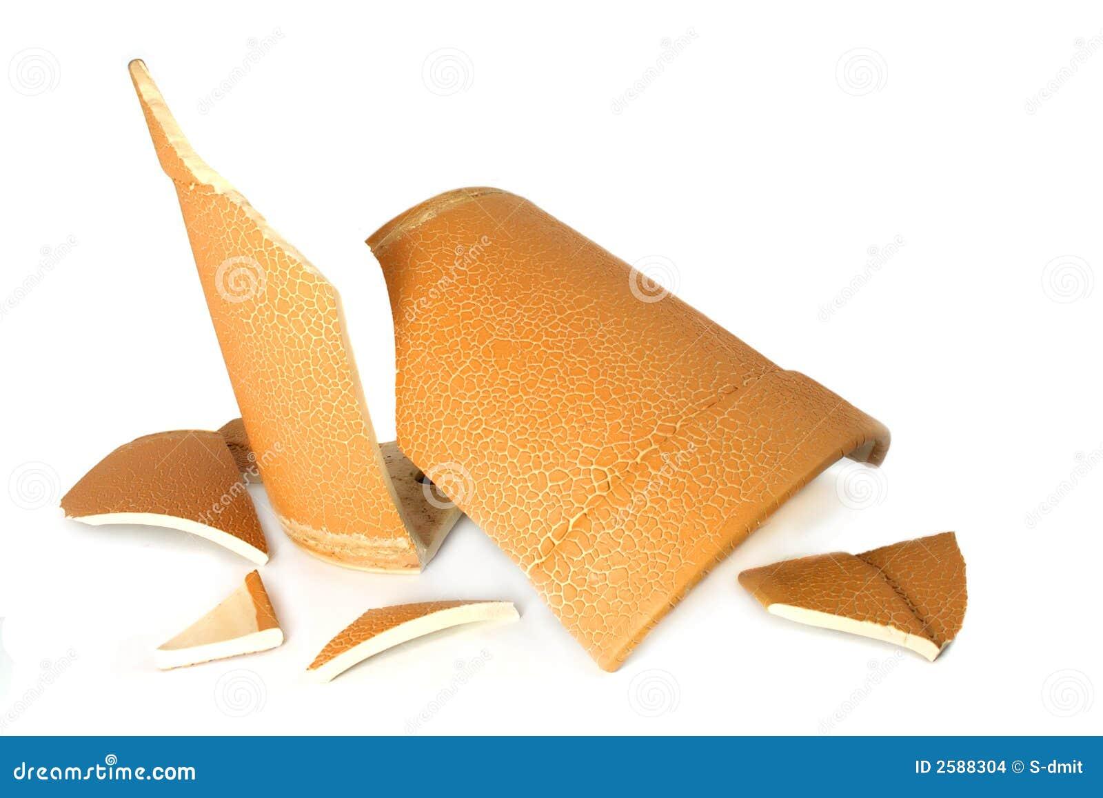 The Broken Flowerpot Stock Images Image 2588304