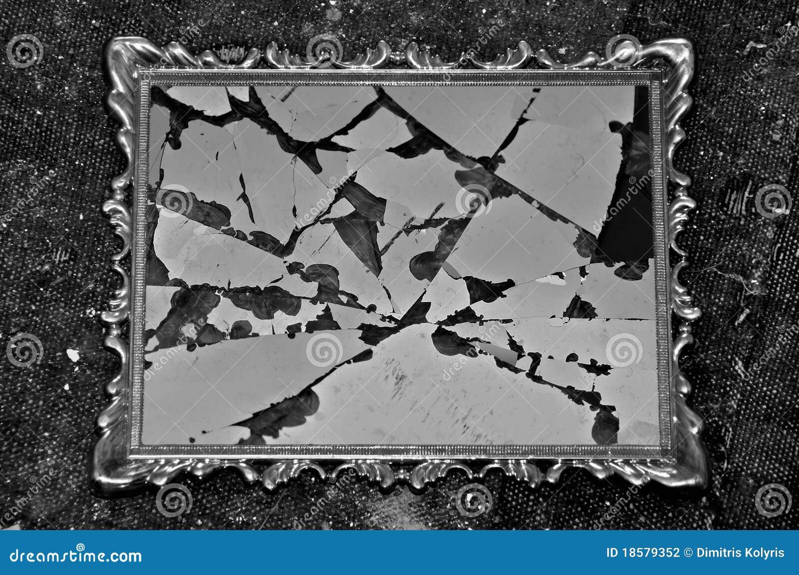 Broken Frame Stock Photo Image Of Cracked Detail