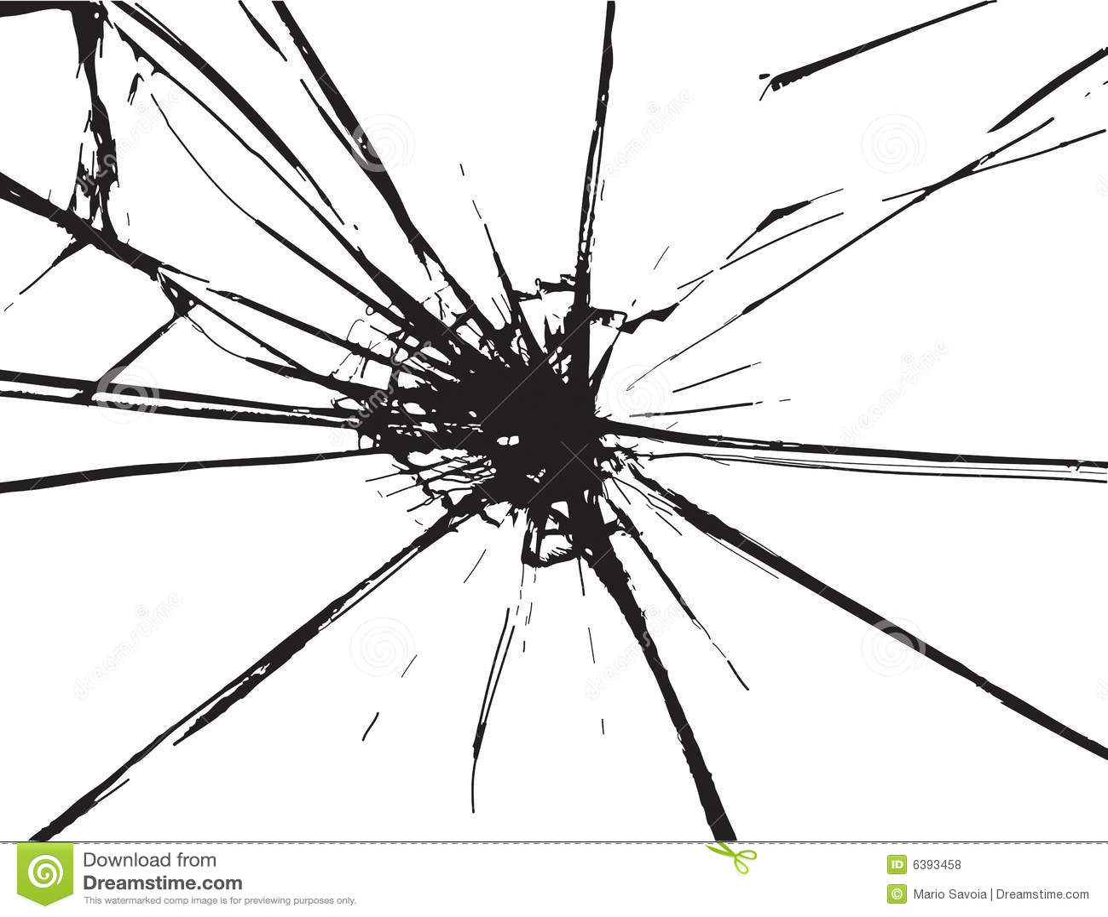 Broken Glass Royalty Free Stock Photos Image 6393458