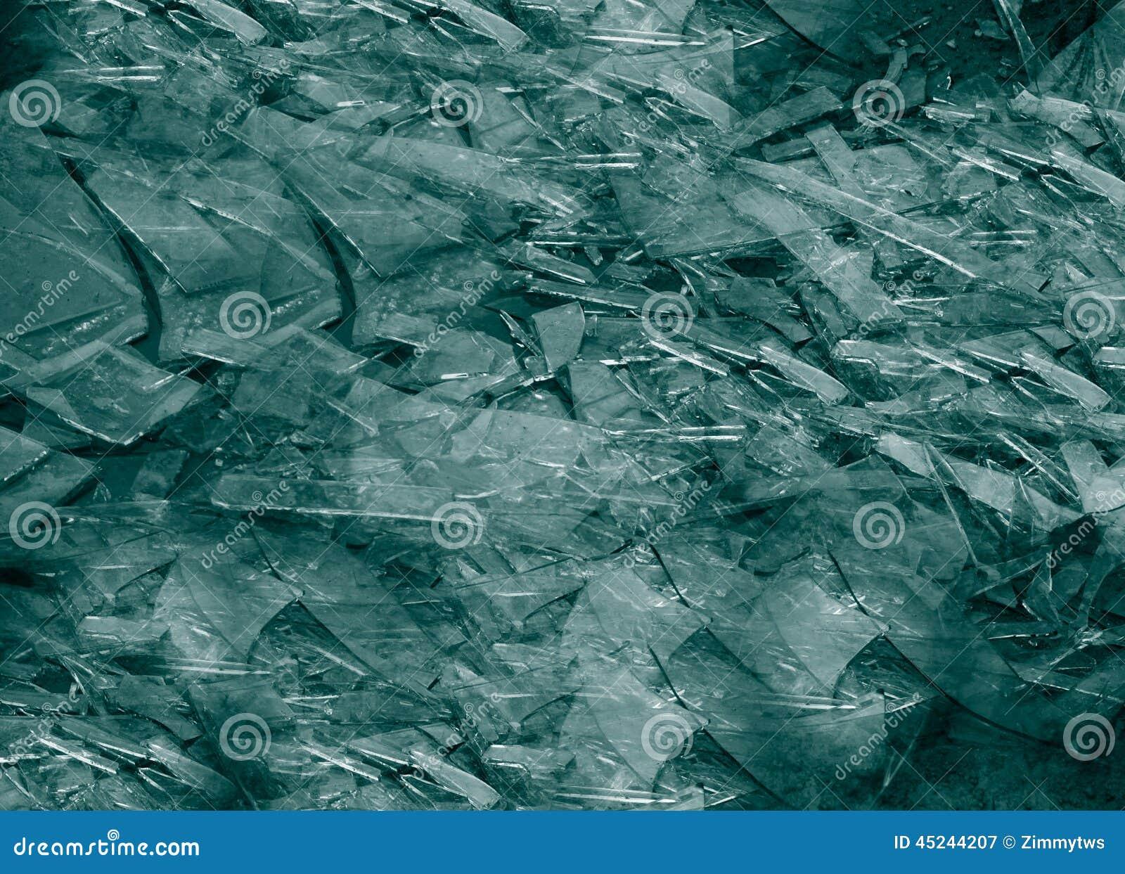 Broken glass shards stock image. Image of sharp, break ...