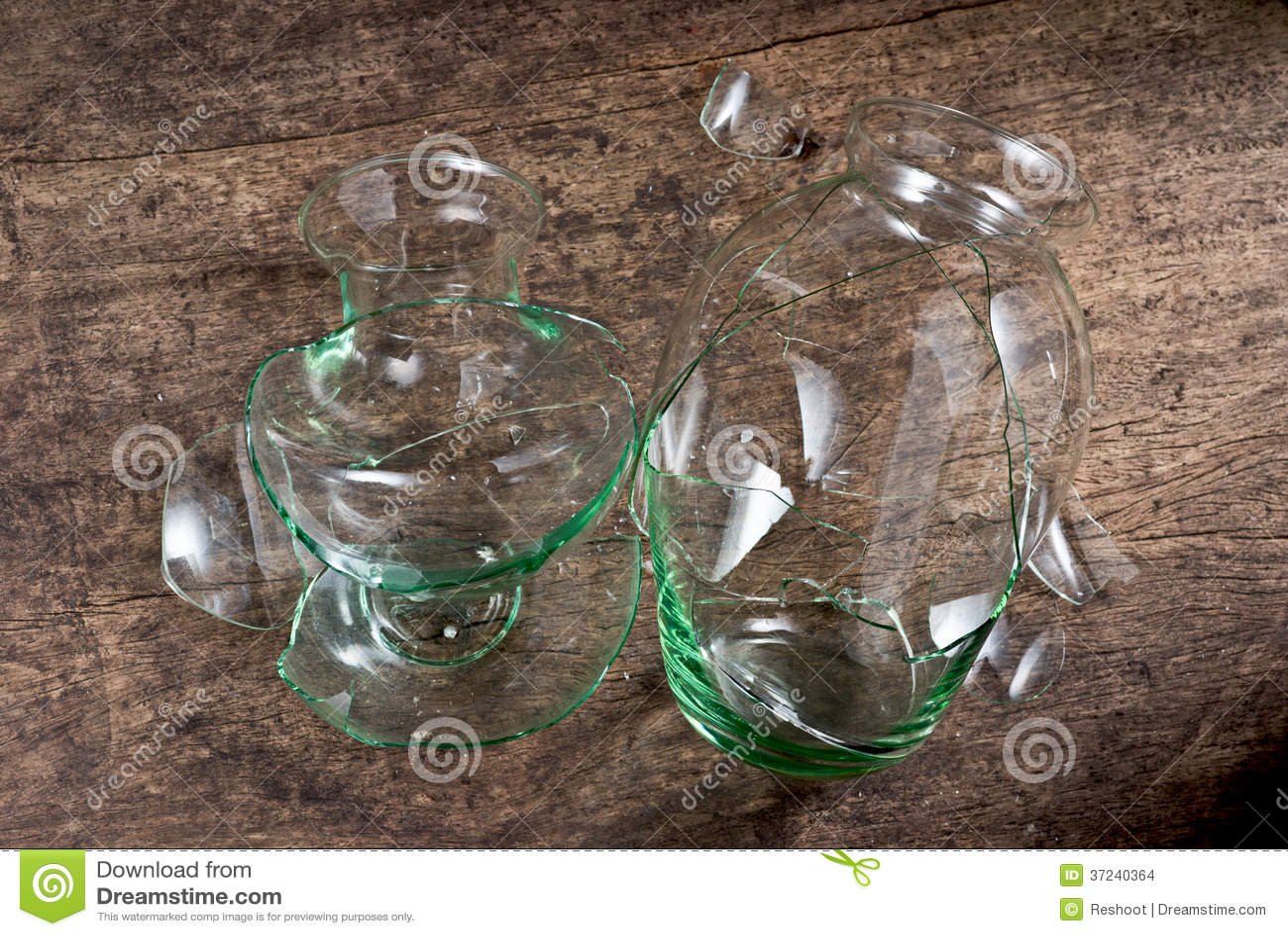 royalty free stock photo download broken glass - Broken Glass Vase