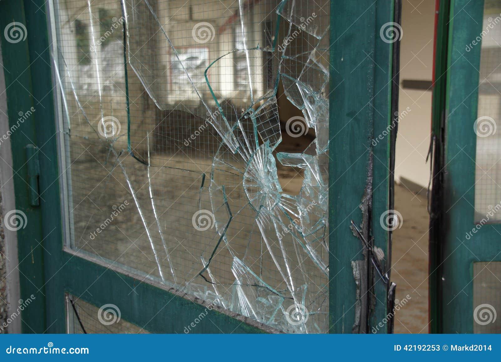 Broken Glassdoor