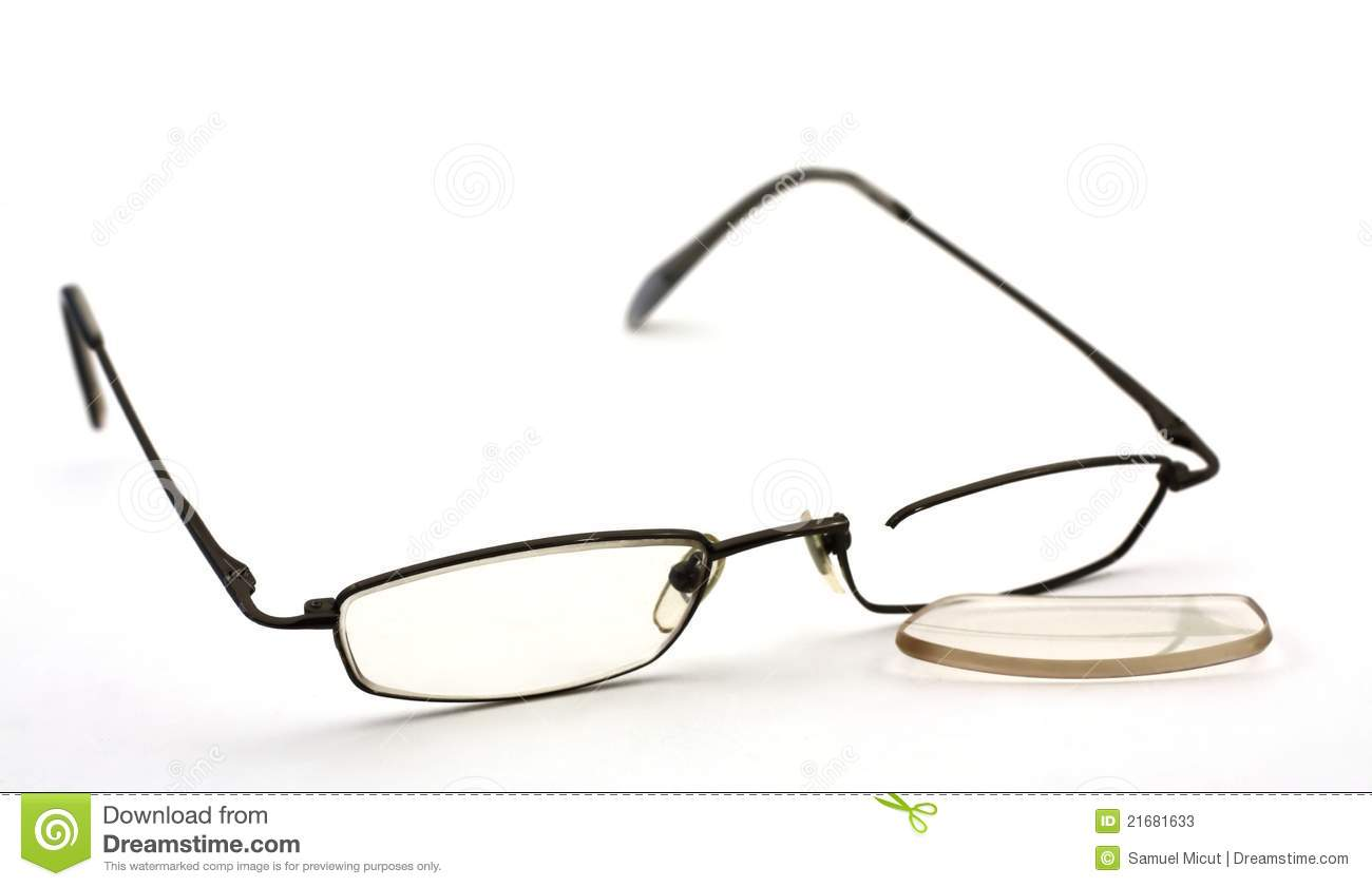 Broken Glasses Stock Photos - Image: 21681633