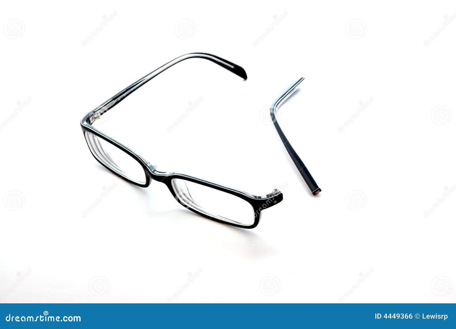 Broken Glasses Royalty Free Stock Image - Image: 4449366