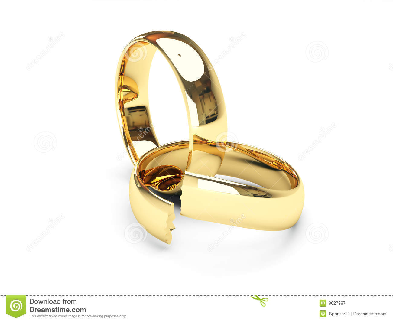 Broken Gold Wedding Rings Royalty Free Stock Photography. Silver Pendant. Pearl Diamond Necklace. Championship Rings. Gold And Diamond Band. Local Jewelry Stores. Wrist Bracelet. 24 Karat Rings. Fashion Bangles