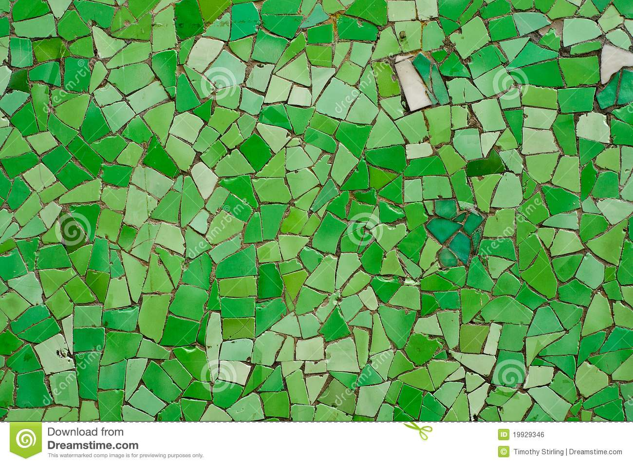 Broken tiles mosaic floor or wall background texture stock photo - Broken Green Wall Tiles Royalty Free Stock Image Image