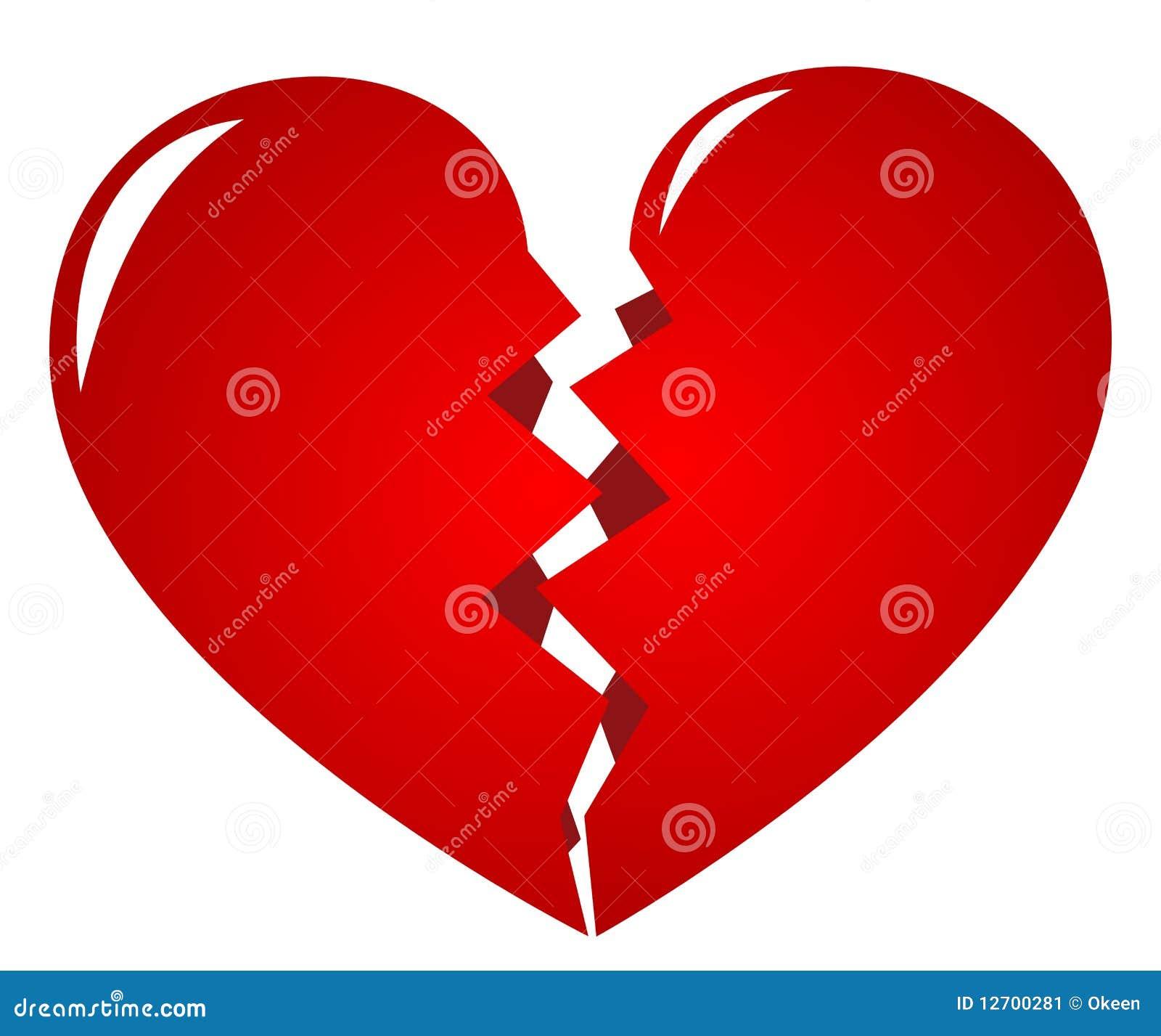 Broken Heart Stock Vector Illustration Of Cupid Emotion 12700281