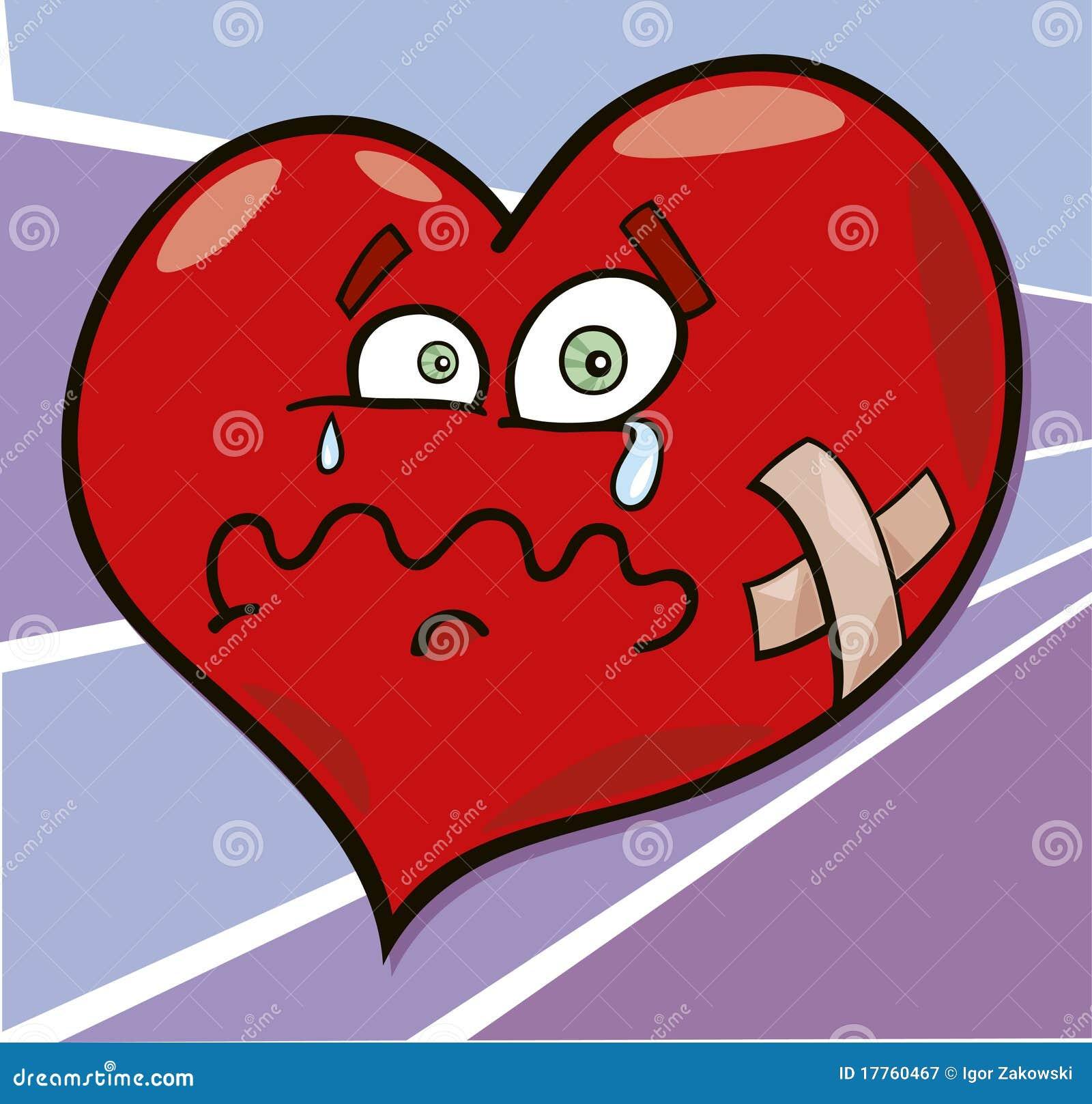 Broken Heart Royalty Free Stock Photography Image 17760467