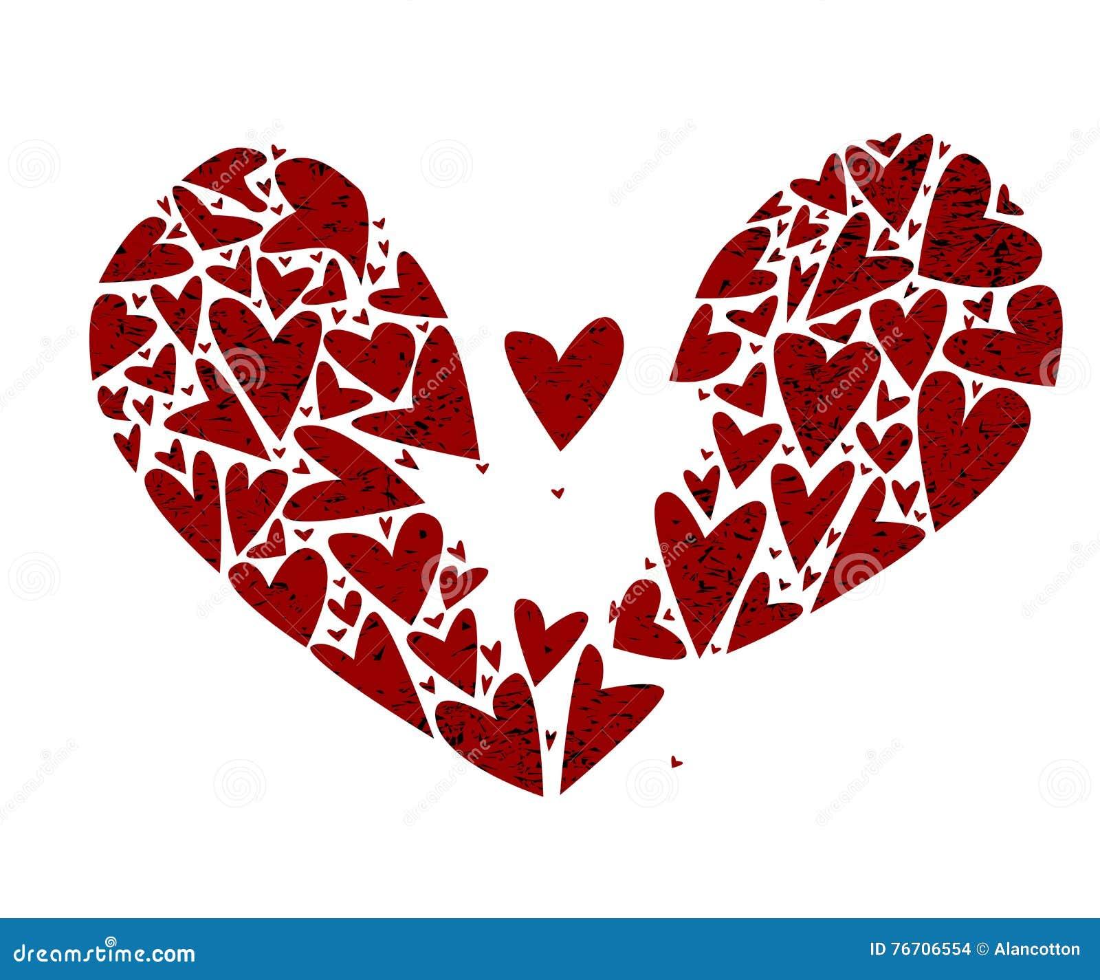 Broken Heart Attack Stock Vector Illustration Of Ache