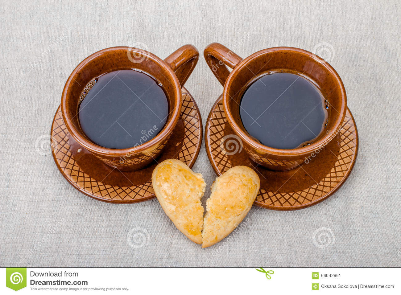 Cup of coffee and a broken heart