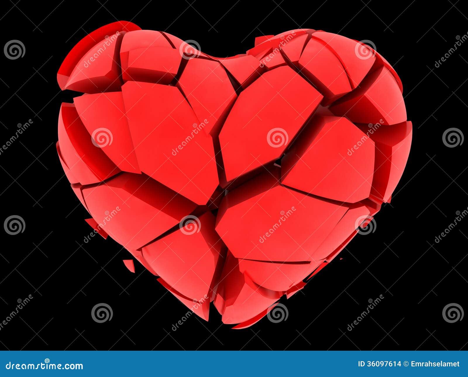 Broken Heart Stock Images Image 36097614