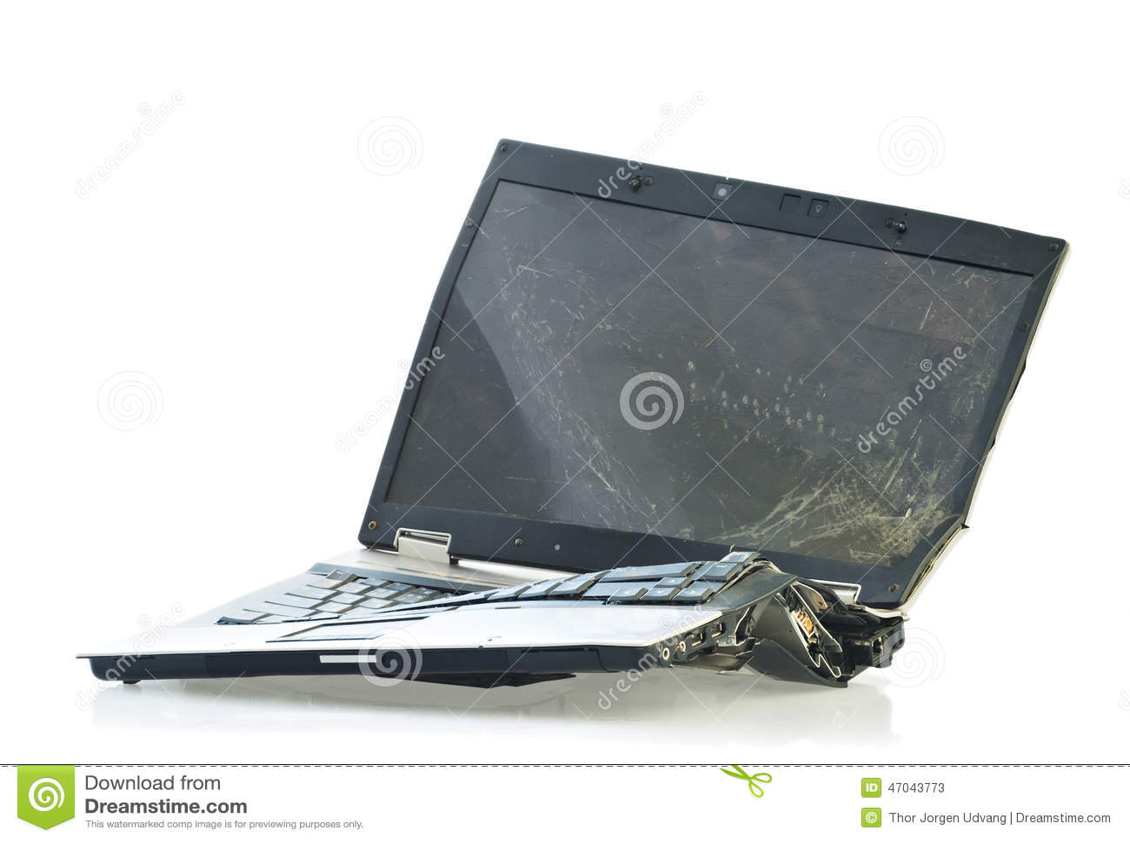 Car Repair Laptop