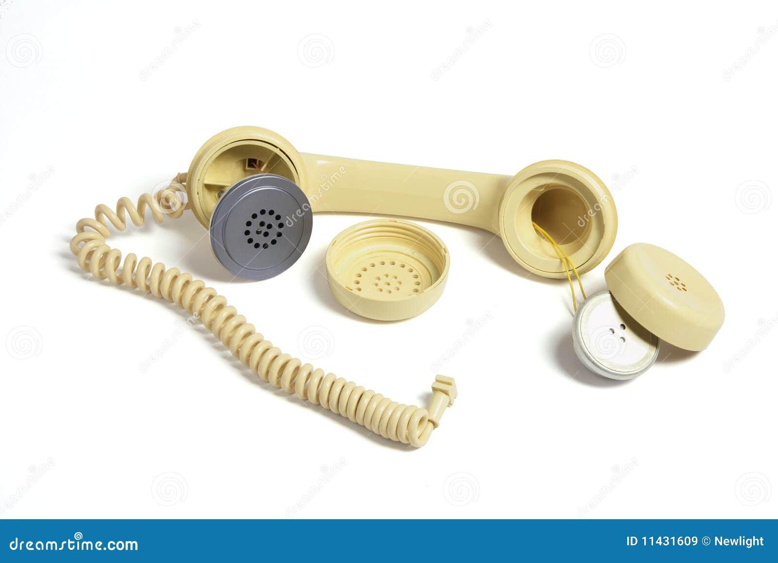 Home Phone Receiver Is Boken