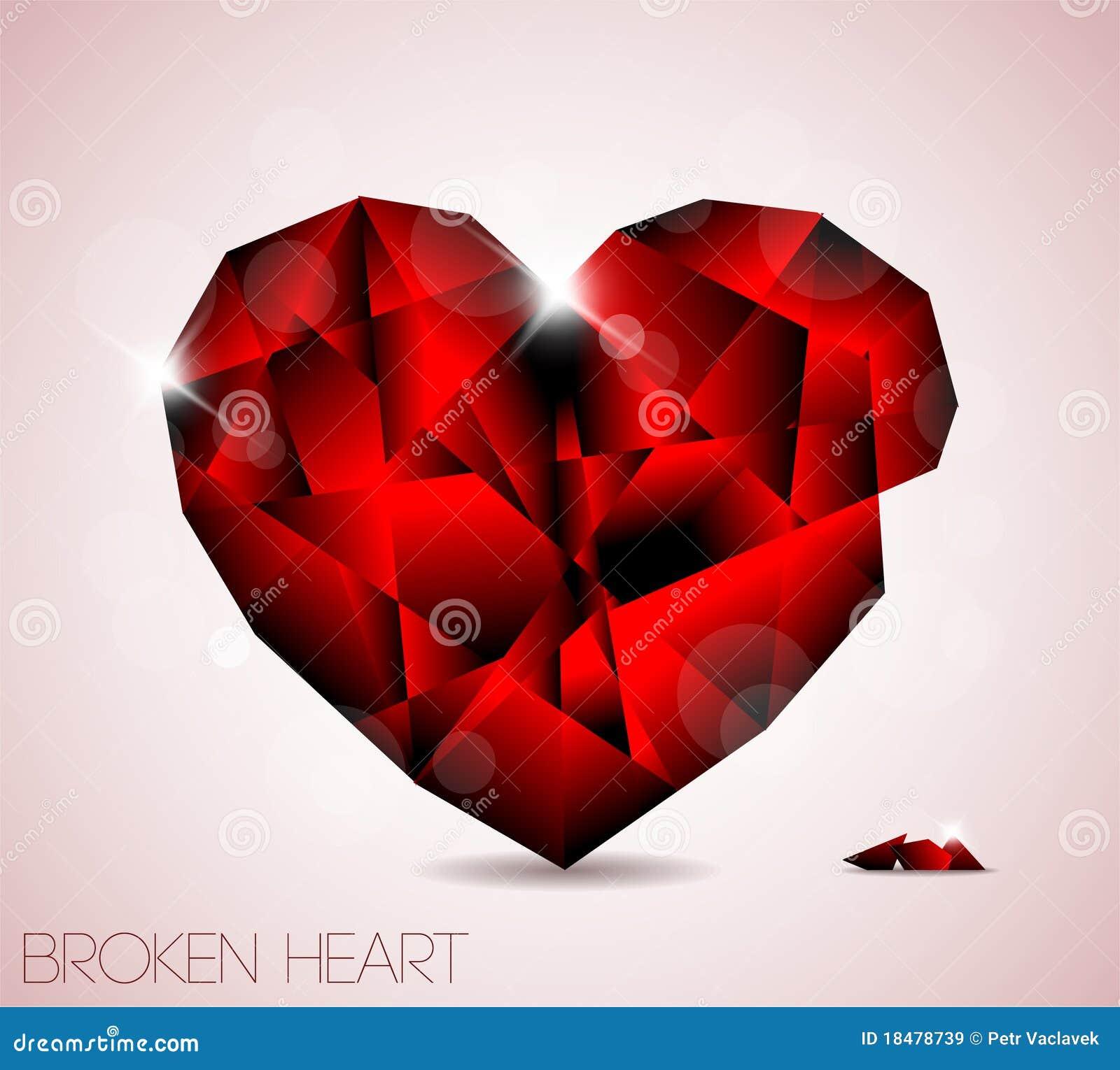 Broken Crystal Heart