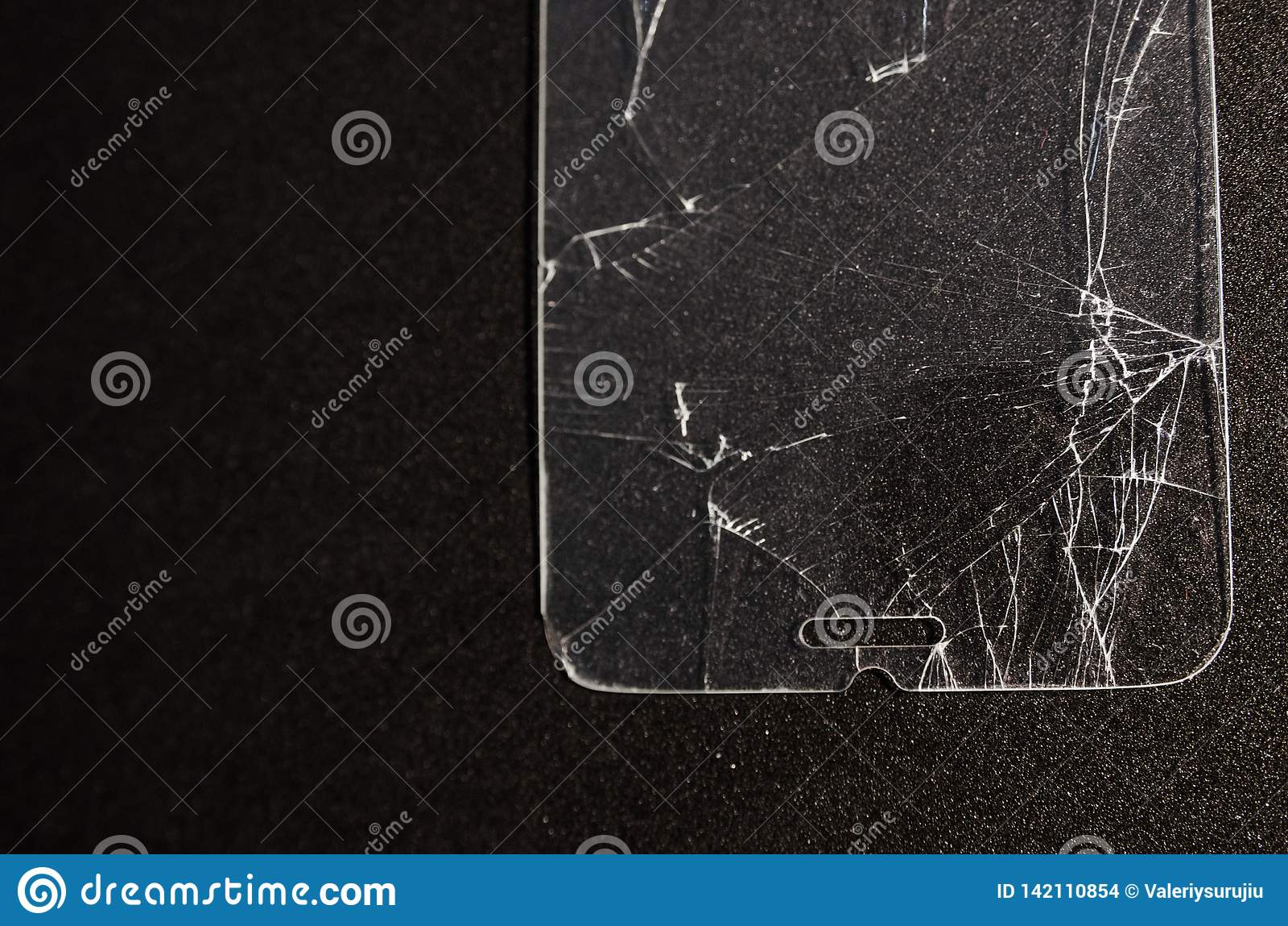 super cute 6e9d8 75136 Broken screen of a phone stock photo. Image of communication - 142110854