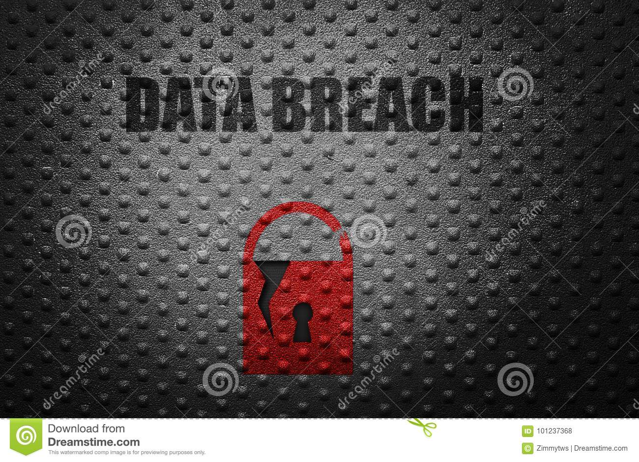 Data breach concept