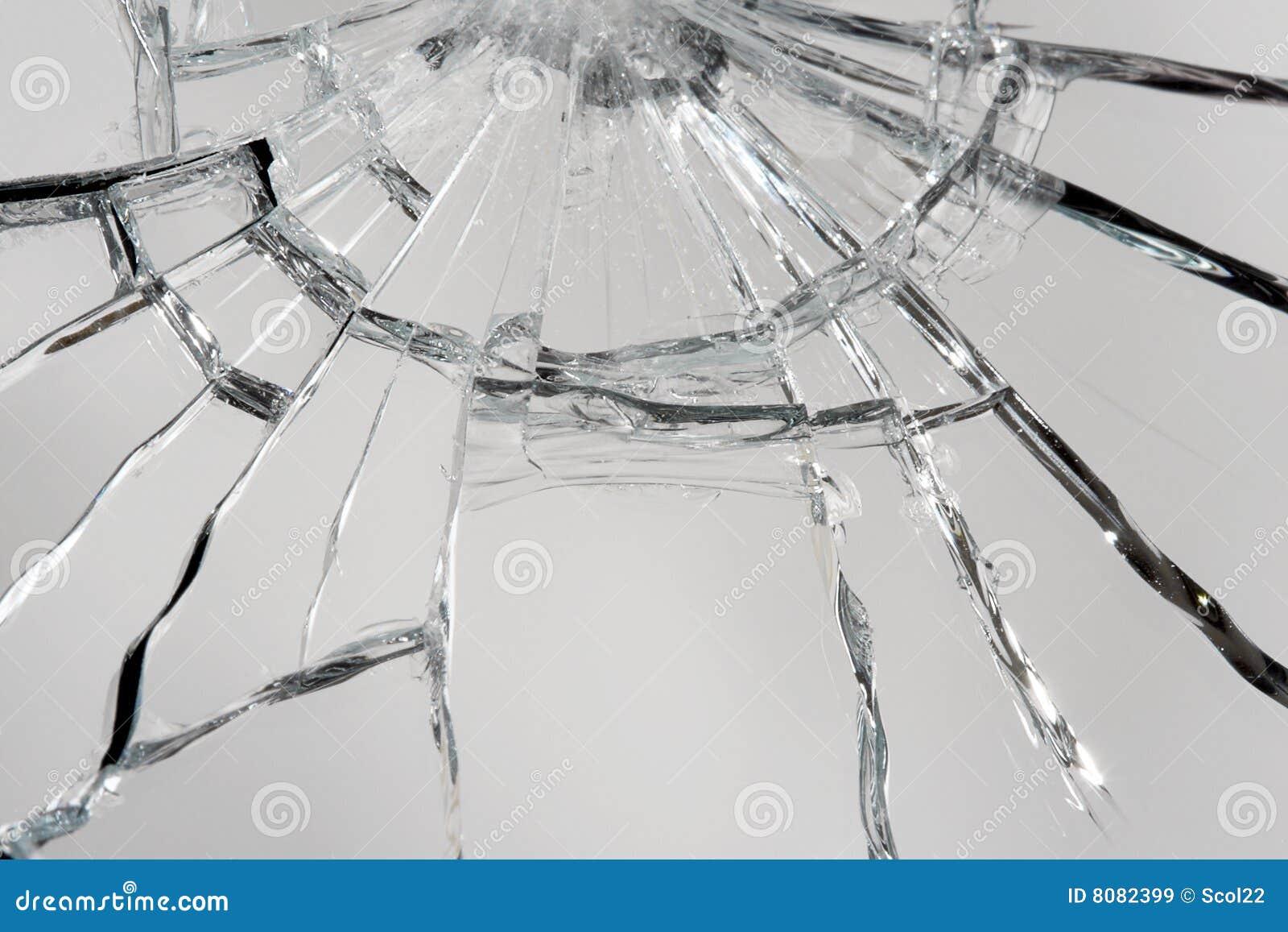 Broken spegel