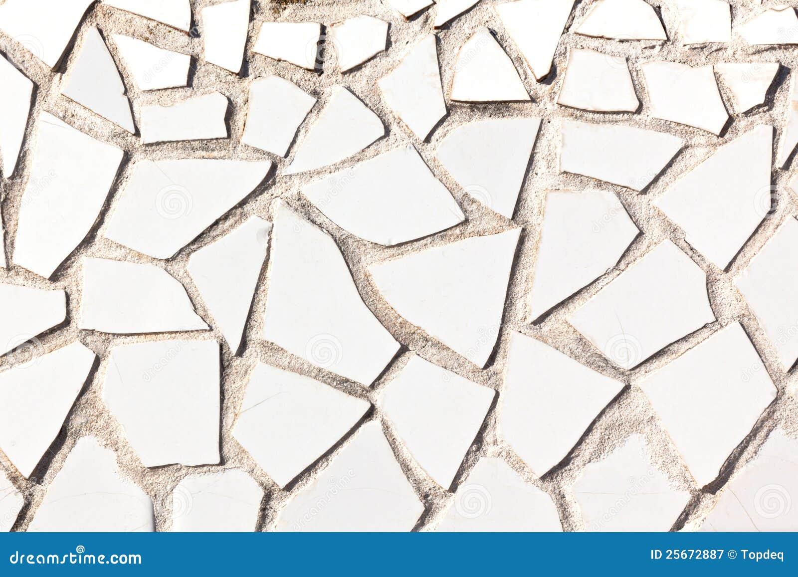 Broken Tile Mosaic Background Stock Image Image 25672887