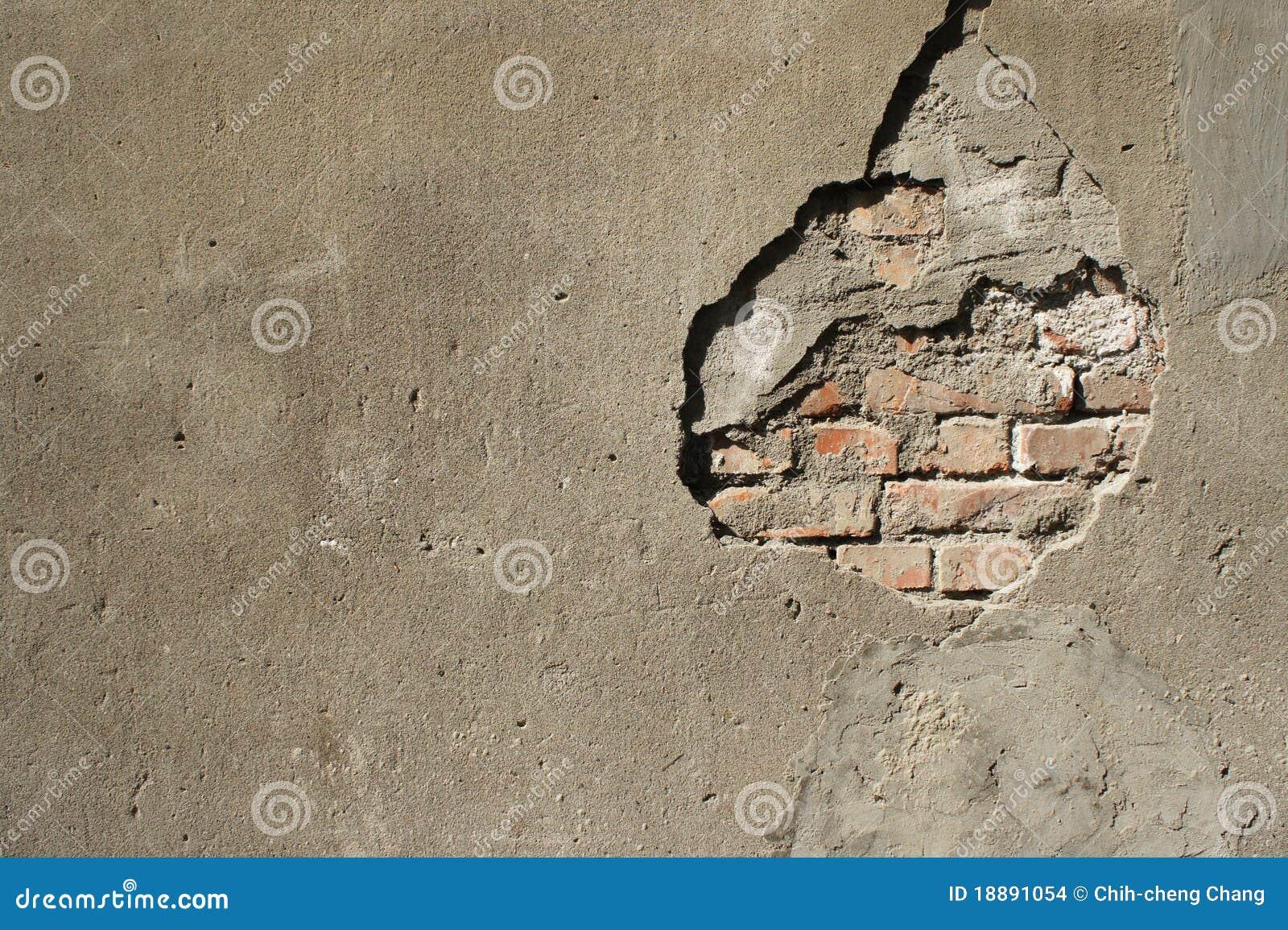 Broken Brick Wall Clipart