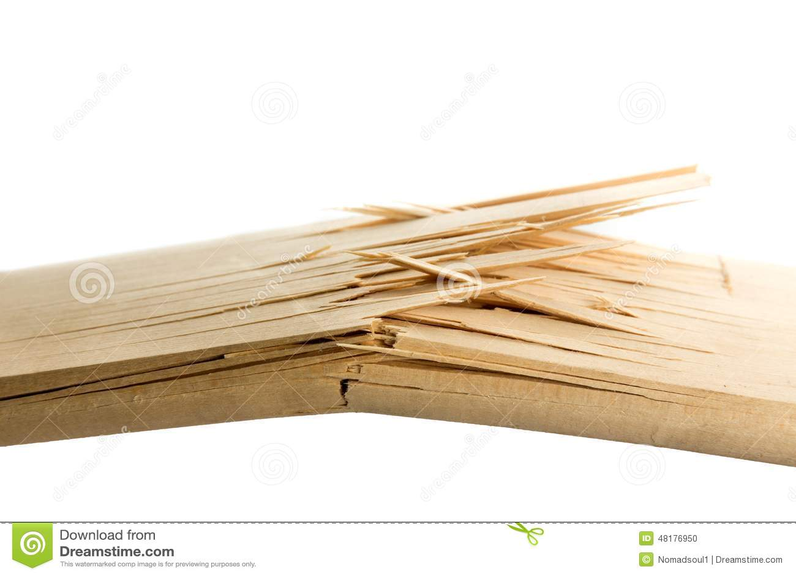 Broken wooden planks stock photo image of fragile shape