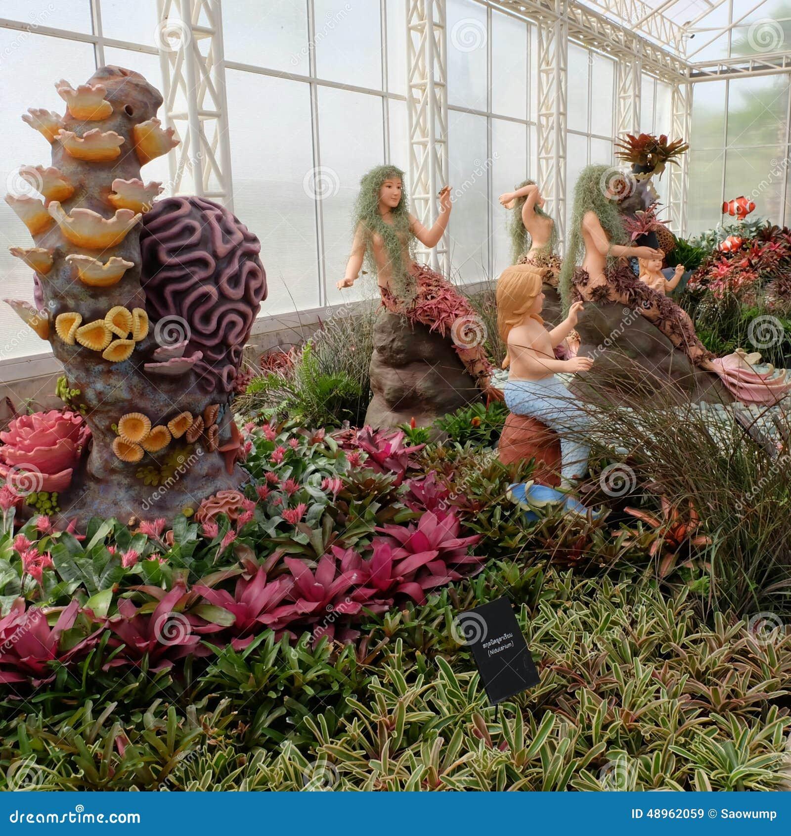 Bromeliad Garden At Play La Ploen In Buriram Thailand Editorial ...