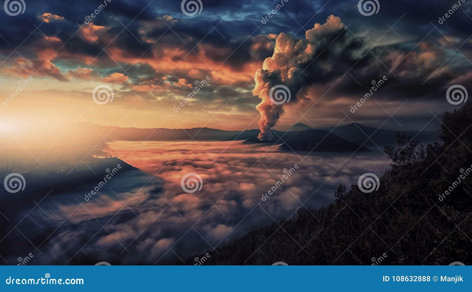 Bromo,腾格尔,塞梅鲁火山国家公园