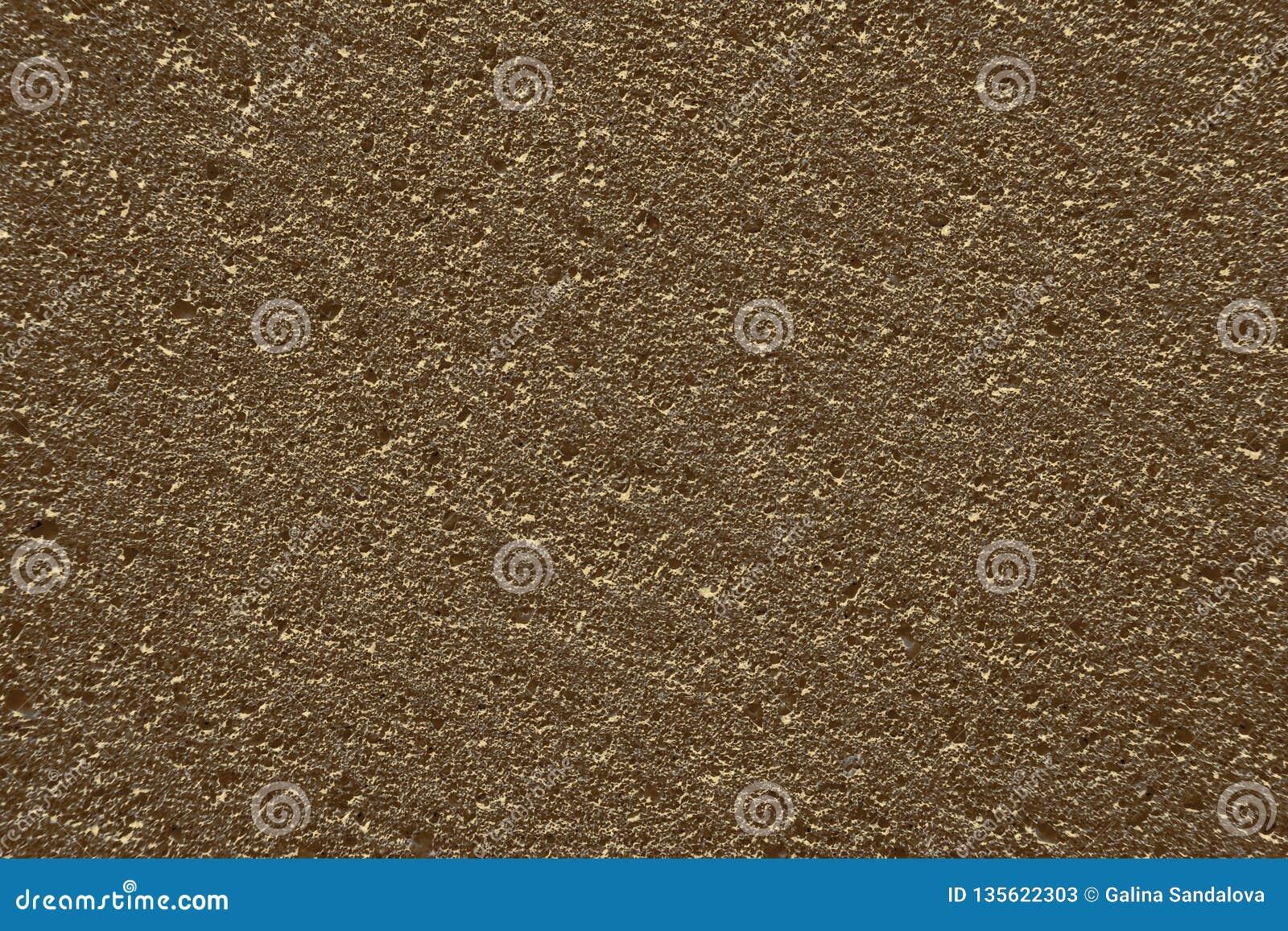 Brons porös grov yttersida för färg, texturbakgrund