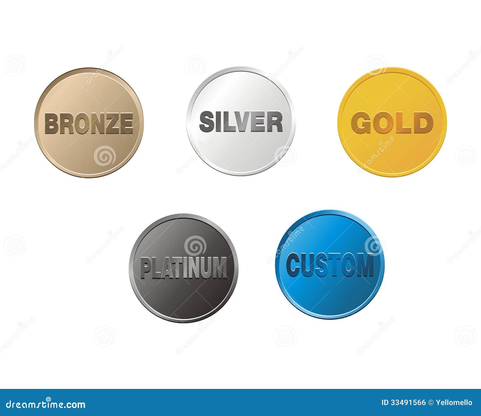 platina goud