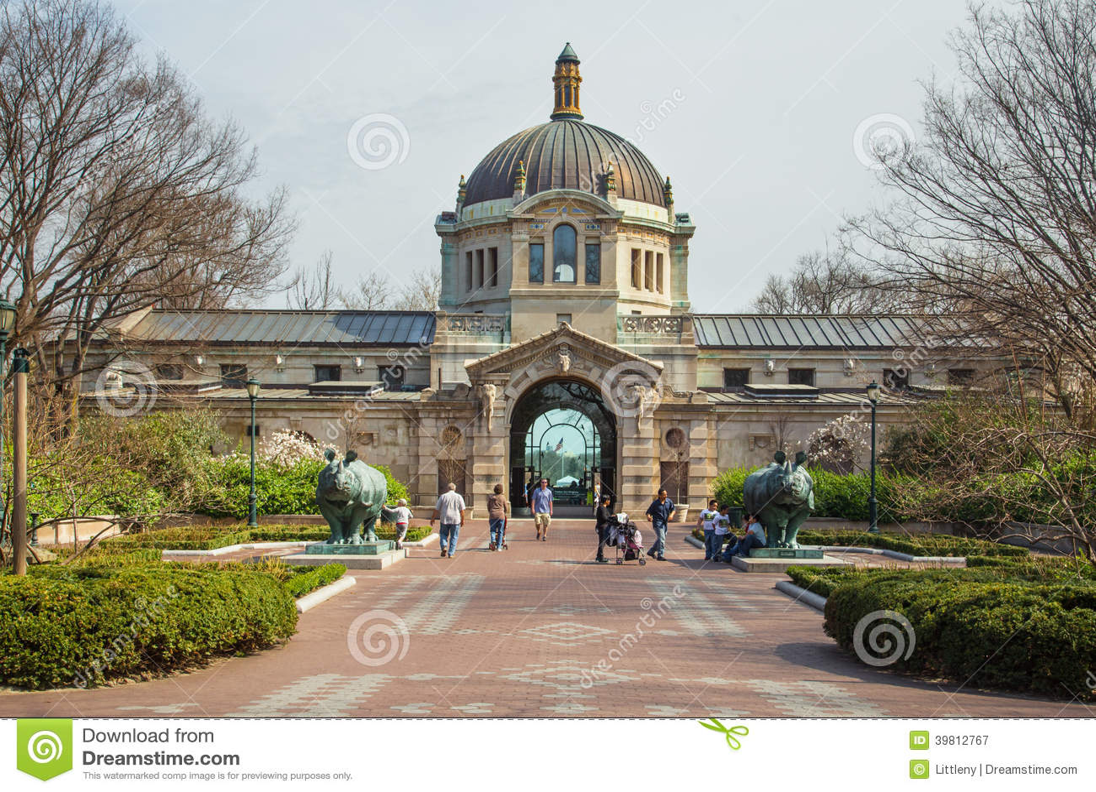 Bronx-Zoo-Gebäude